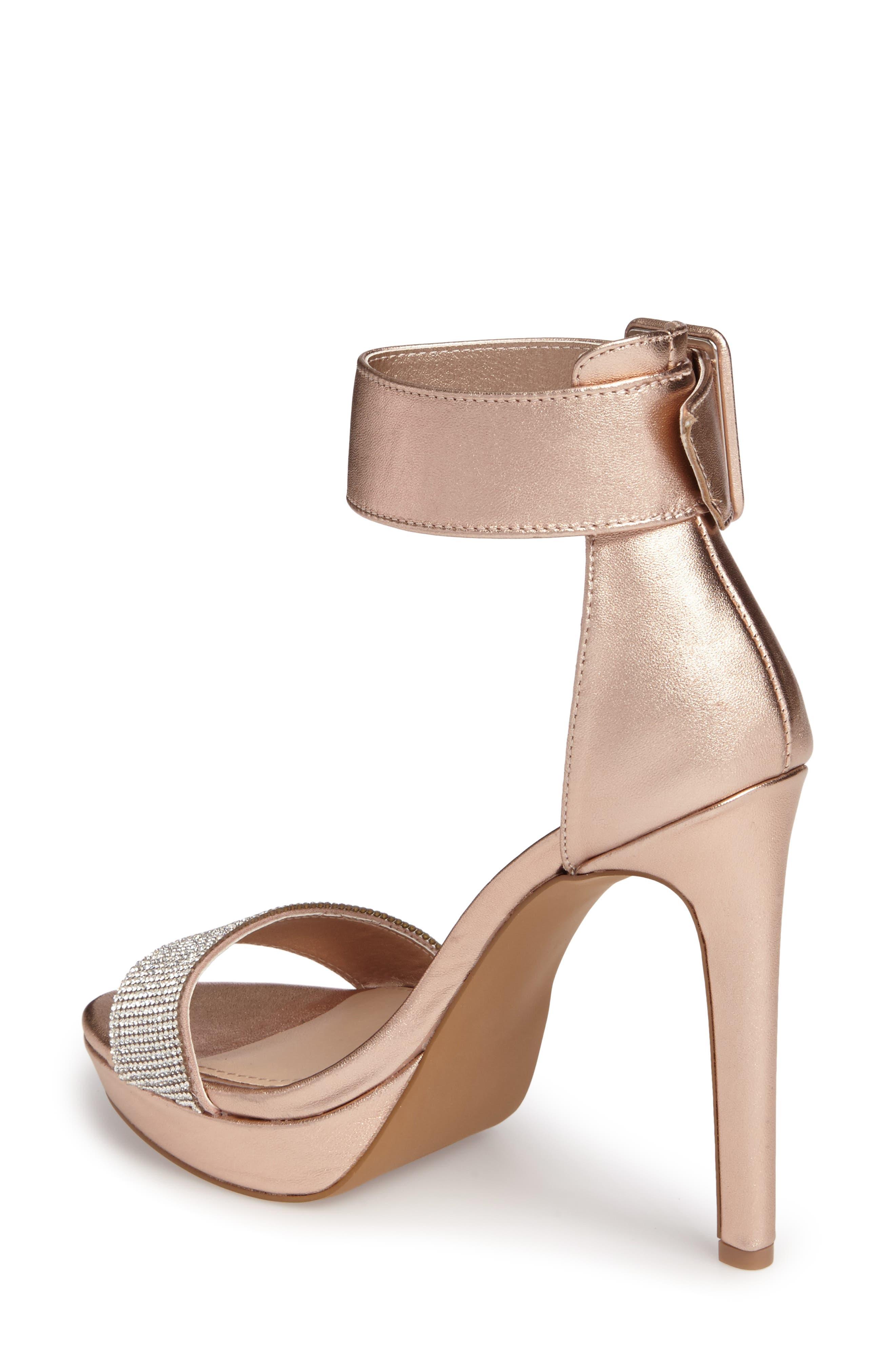 Circuit Sandal,                             Alternate thumbnail 2, color,                             Rose Gold Leather