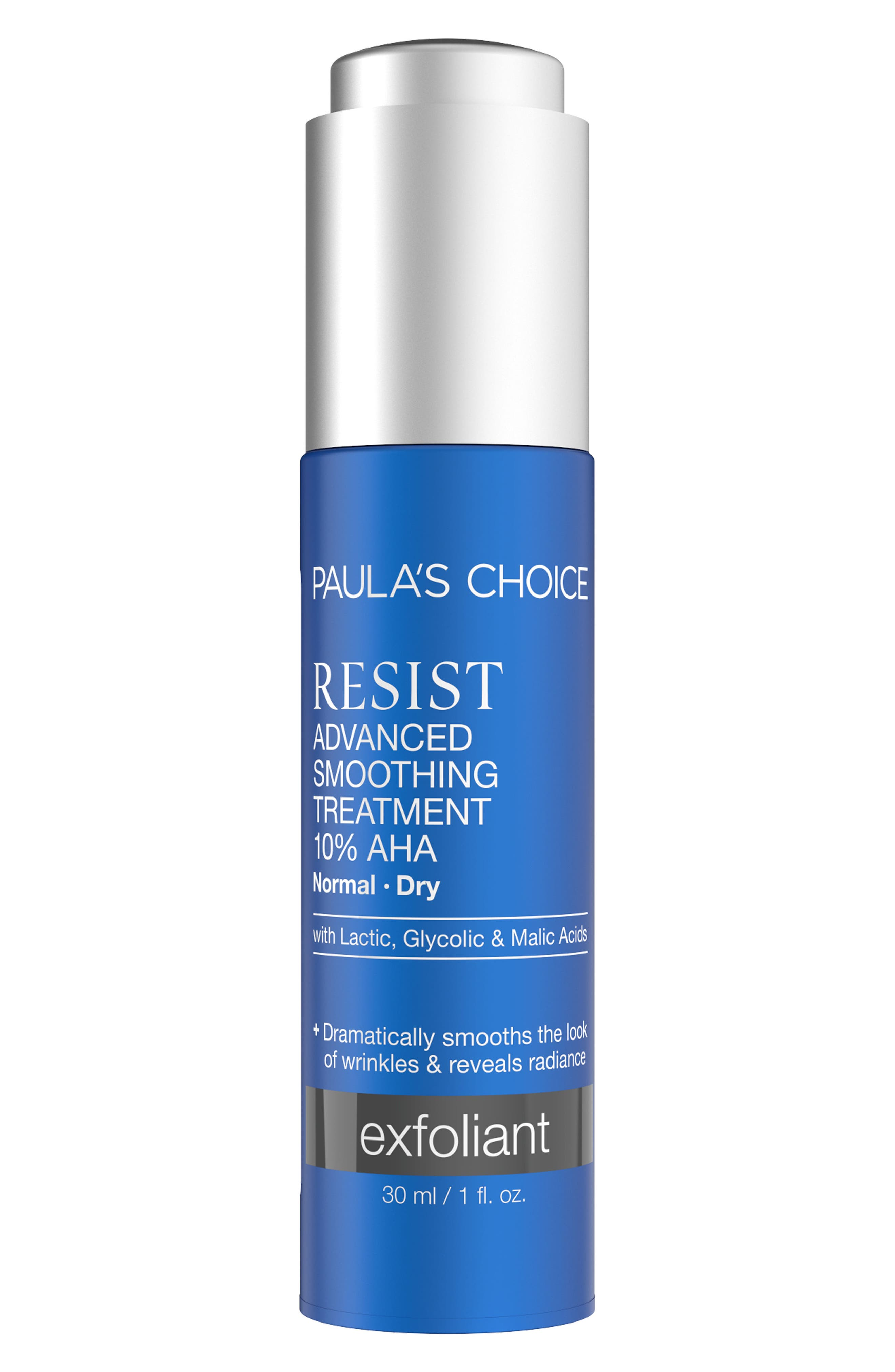 Resist Advanced Smoothing Treatment 10% AHA,                         Main,                         color, No Color