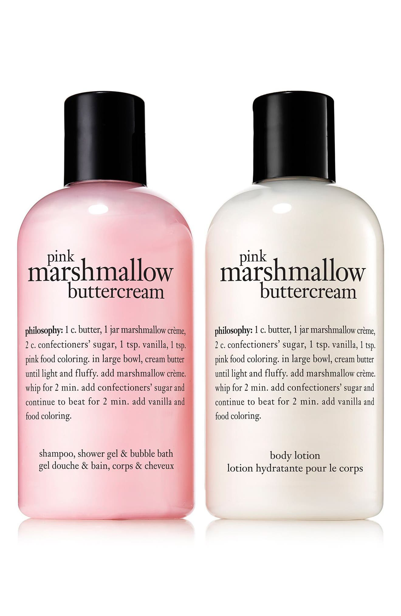 Alternate Image 2  - philosophy pink marshmallow buttercream duo (Nordstrom Exclusive)