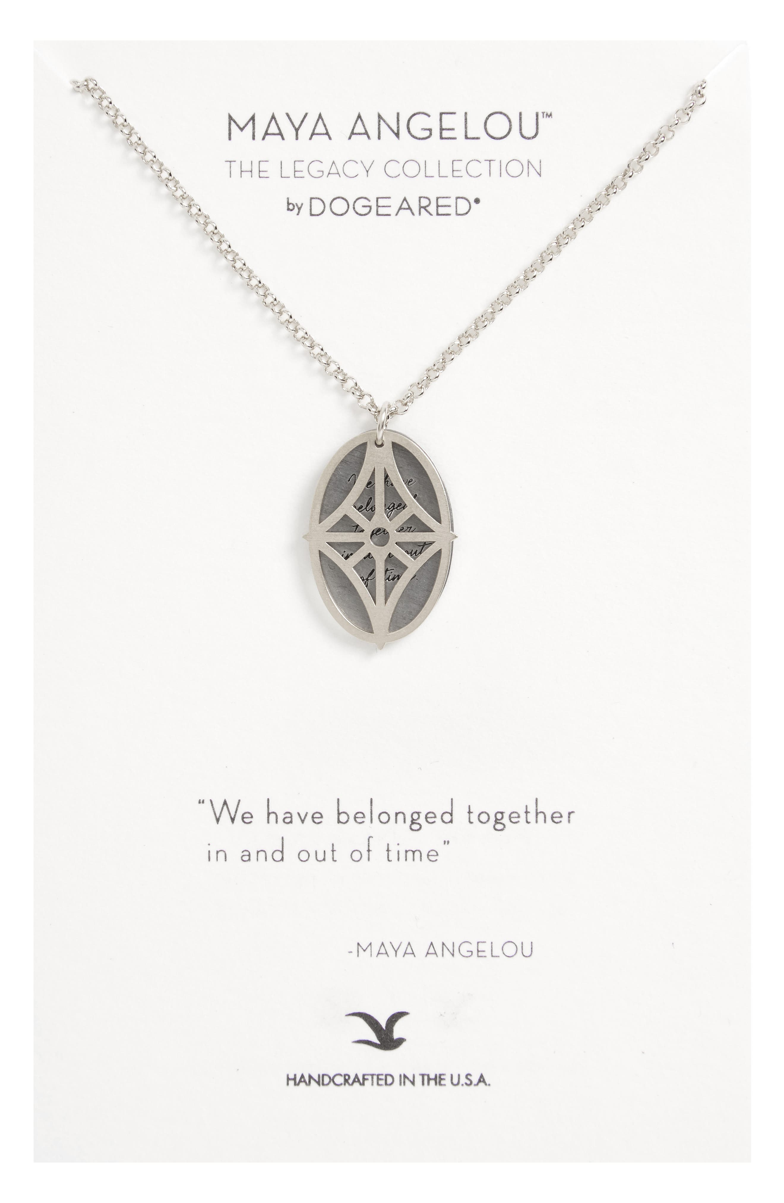 Legacy - We Have Belonged Together Tiered Pendant Necklace,                         Main,                         color, Silver