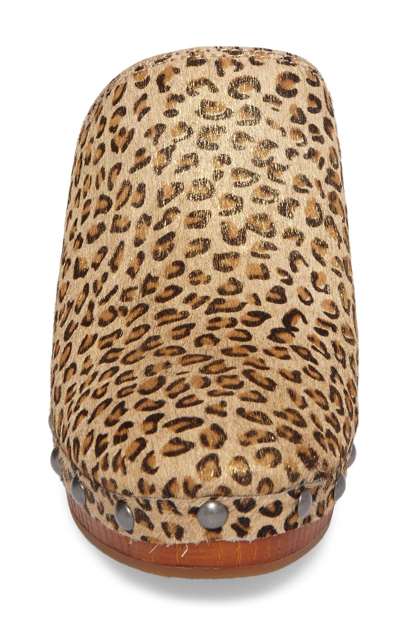 Alternate Image 4  - Lucky Brand Yeats Genuine Calf Hair Clog (Women)