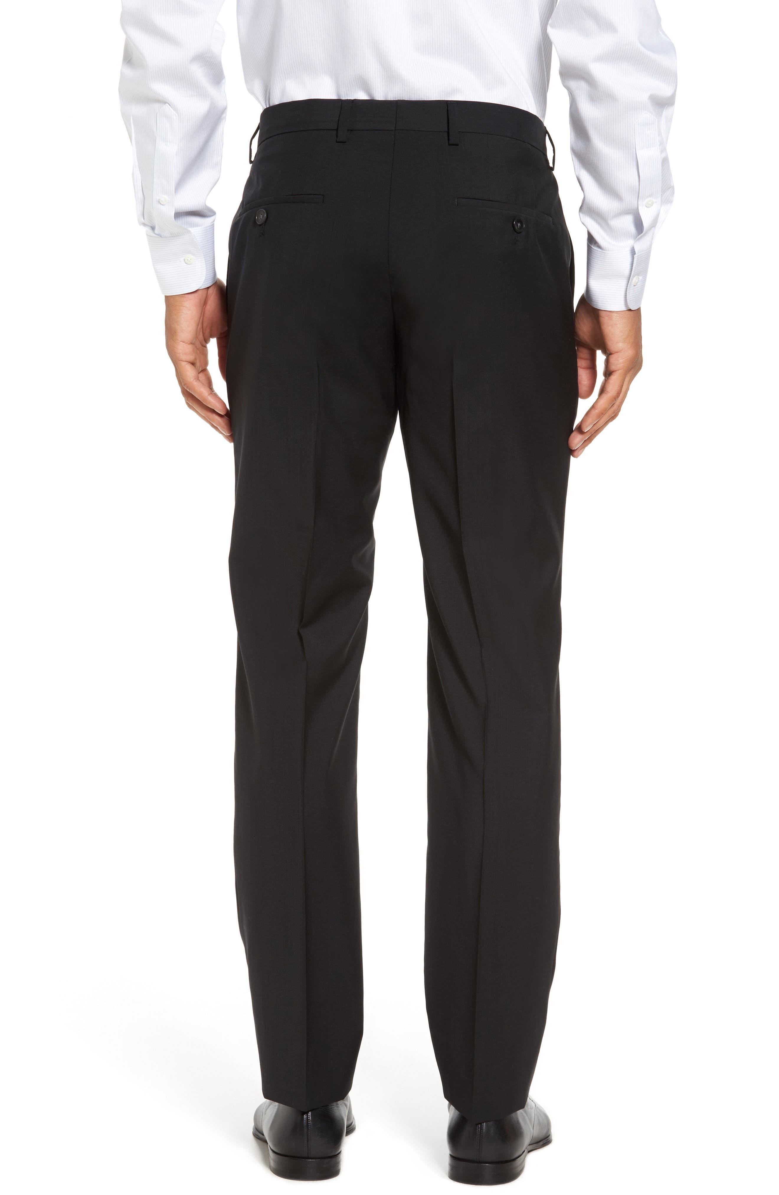 Alternate Image 3  - BOSS 'Genesis' Flat Front Wool Trousers