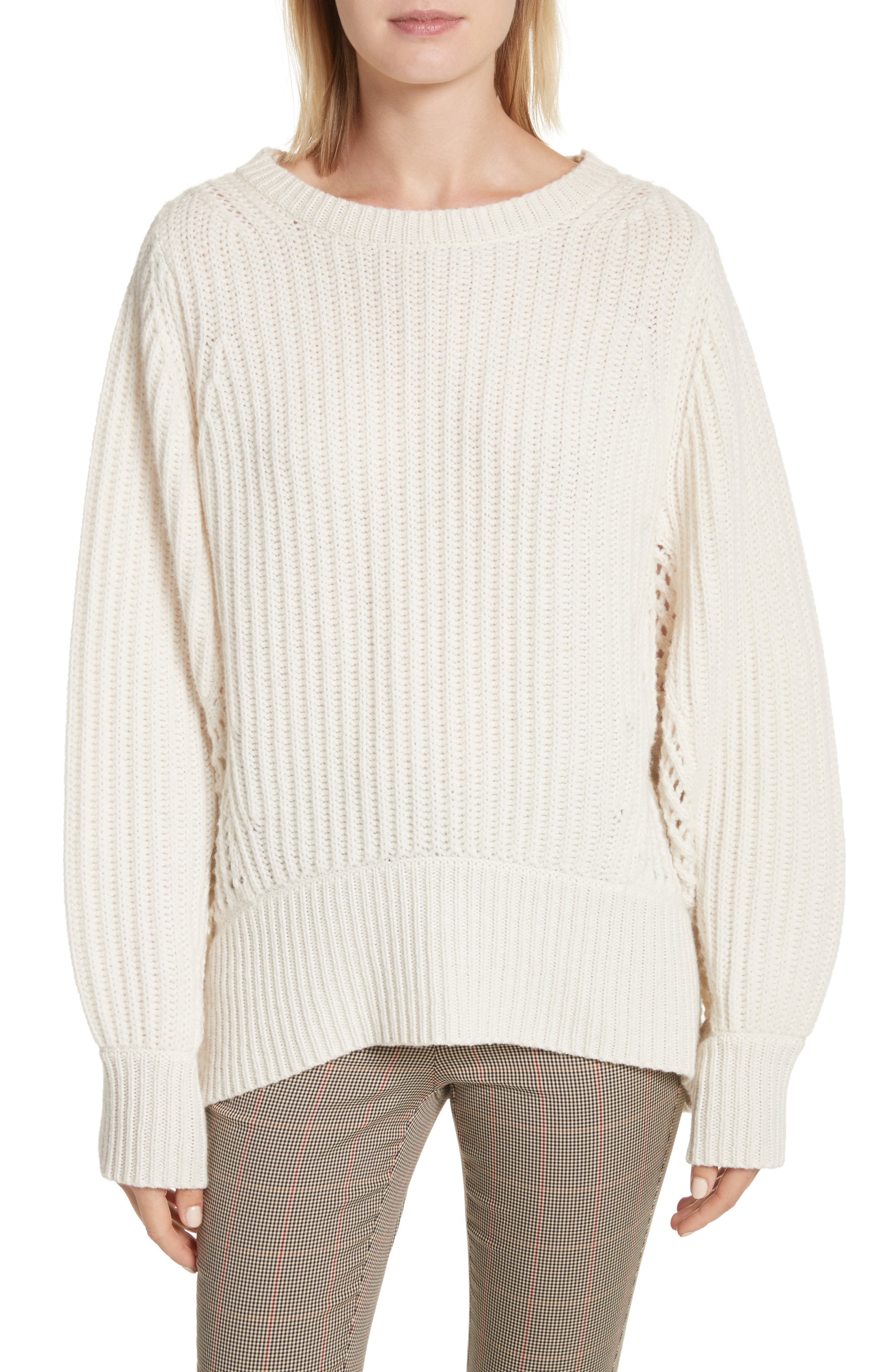 Womens White Turtleneck Sweater