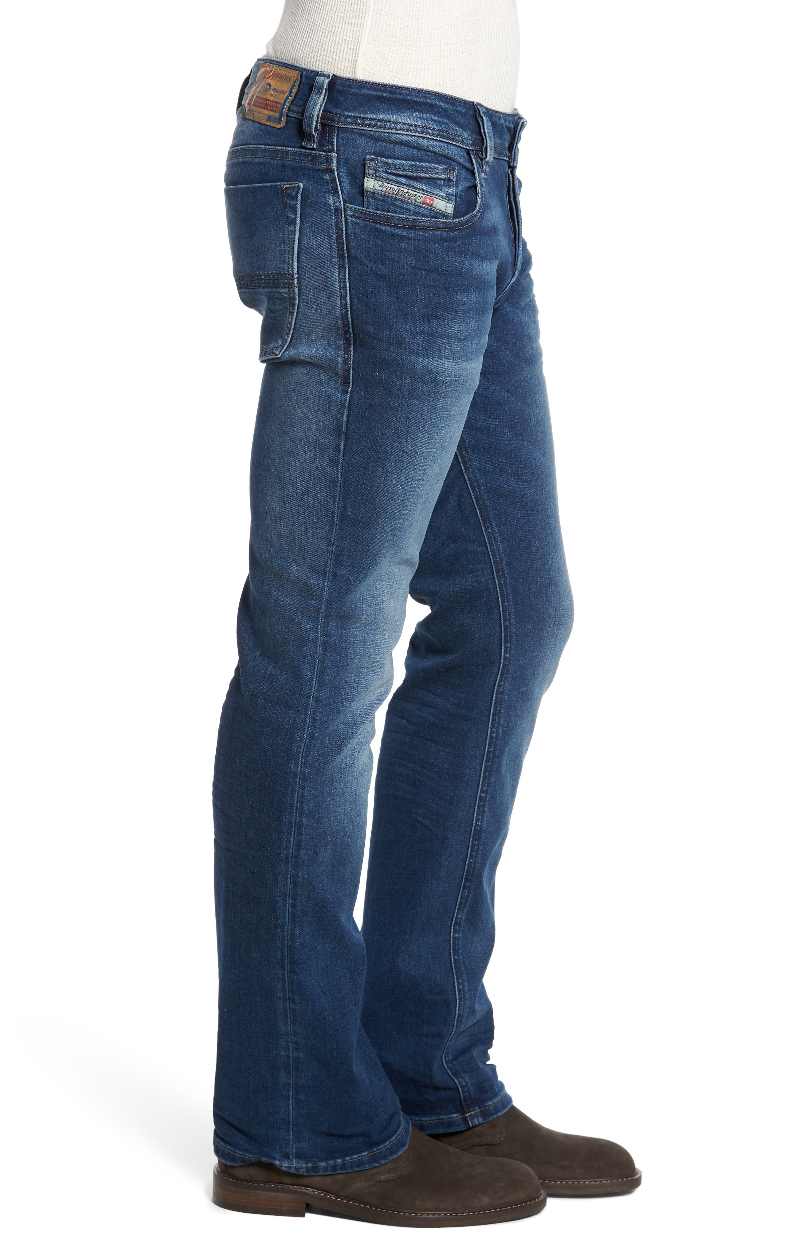Alternate Image 3  - DIESEL® Zatiny Bootcut Jeans (84HV)