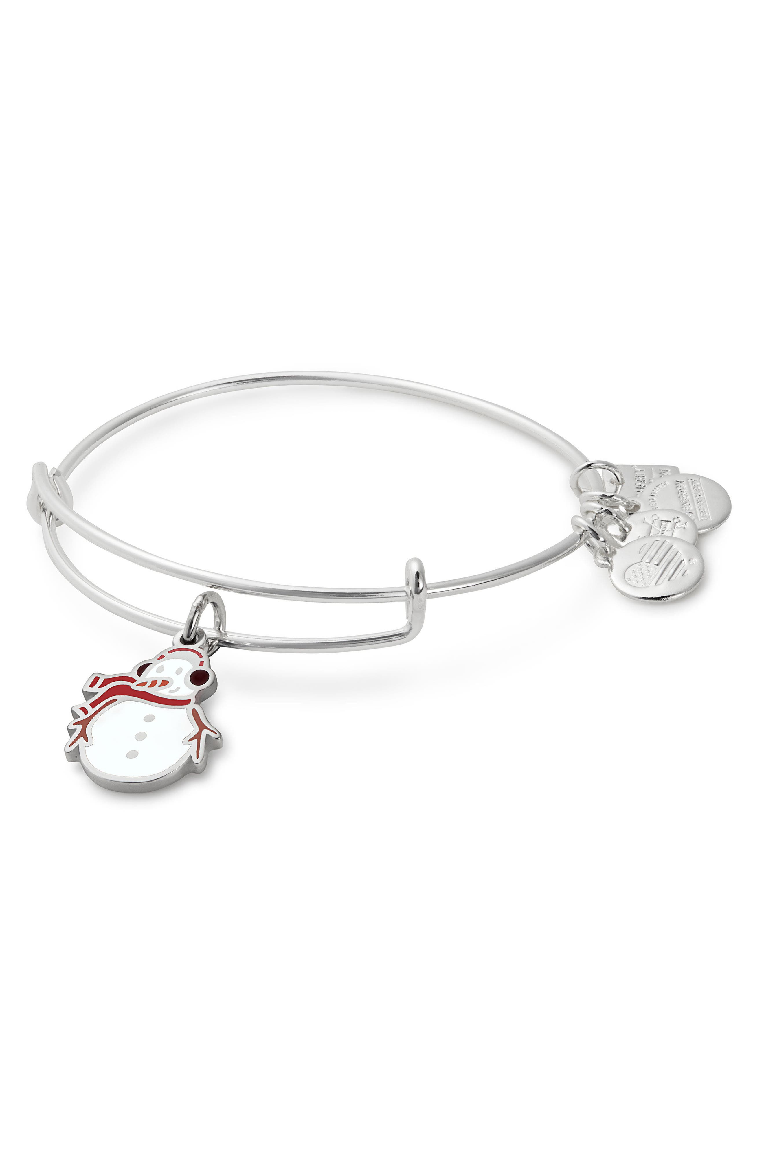 Alex and Ani Charity by Design Snowman Bangle