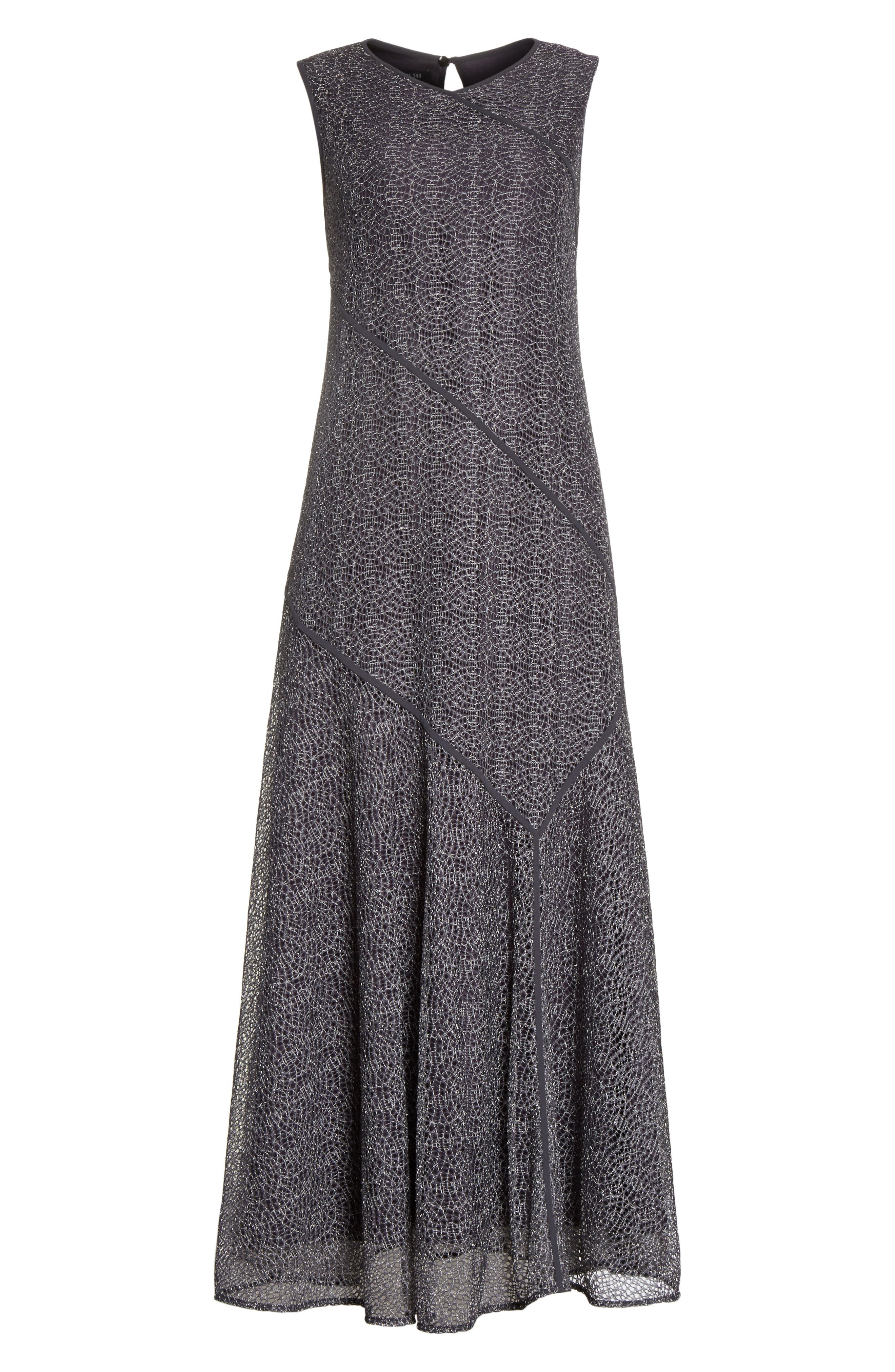 Rubina Dress,                             Alternate thumbnail 7, color,                             Admiral Blue Multi