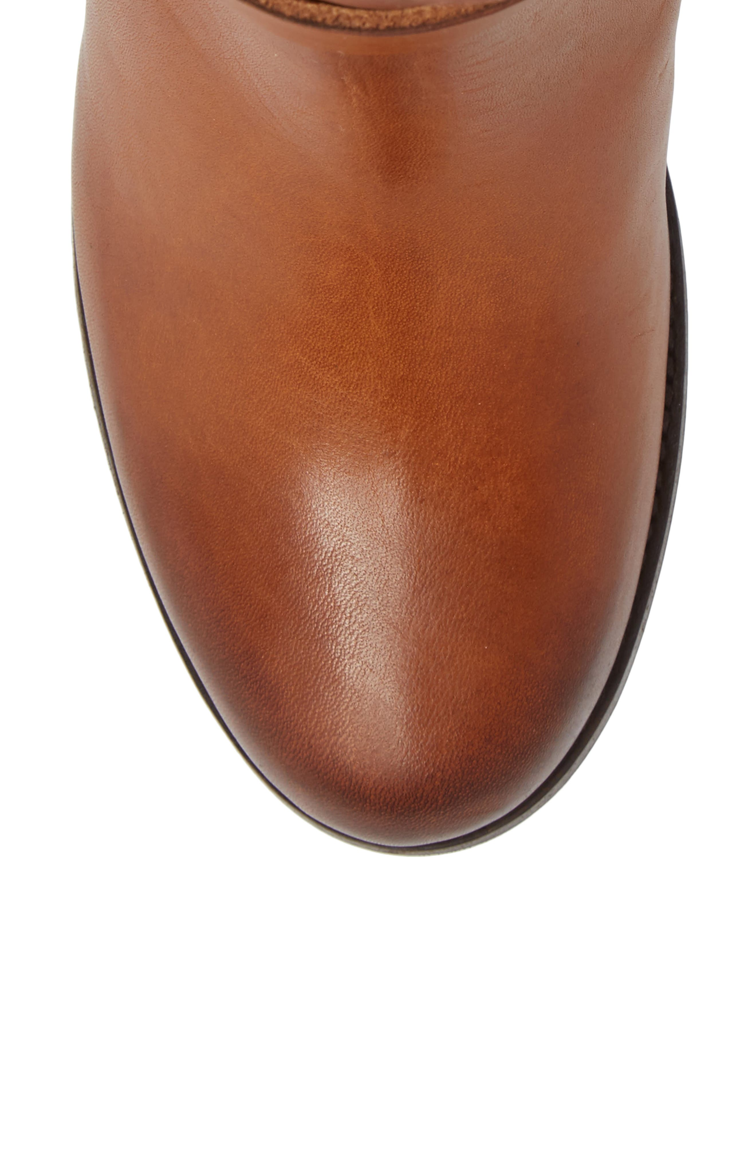 Addie Harness Boot,                             Alternate thumbnail 5, color,                             Brown
