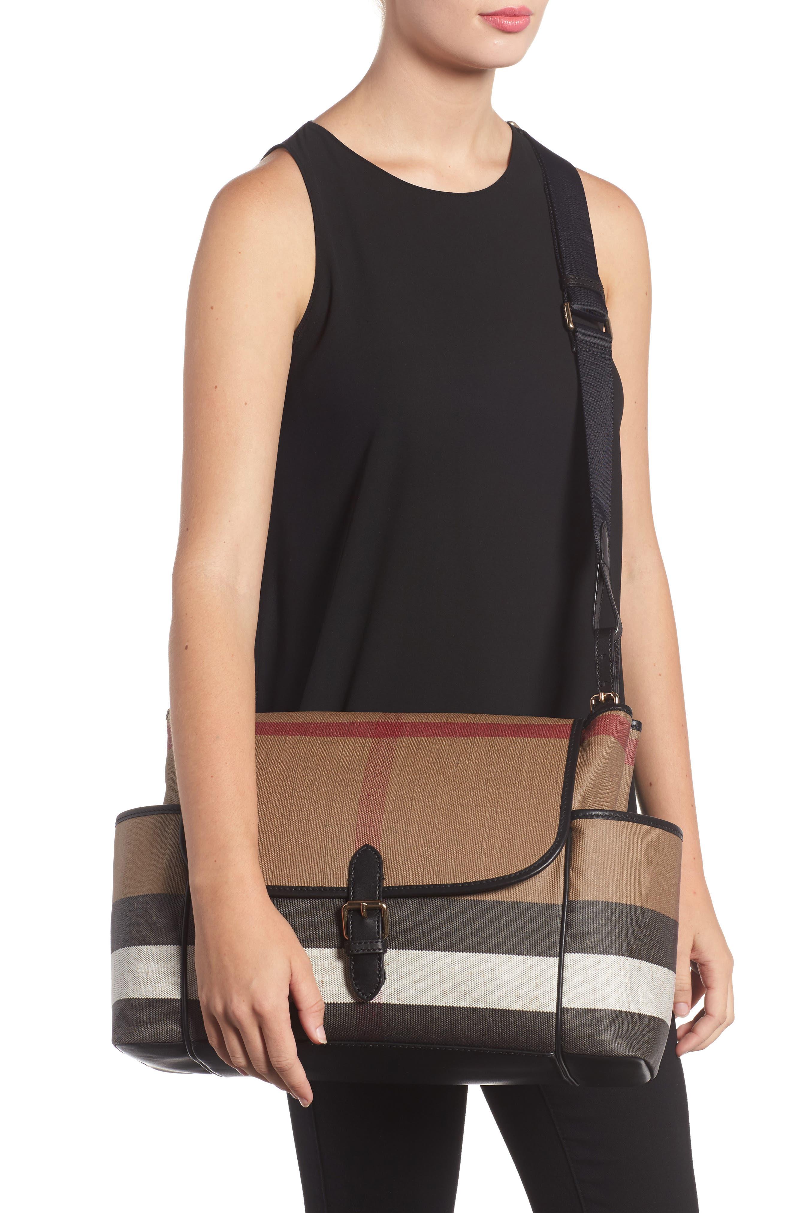 Alternate Image 2  - Burberry Flap Diaper Bag