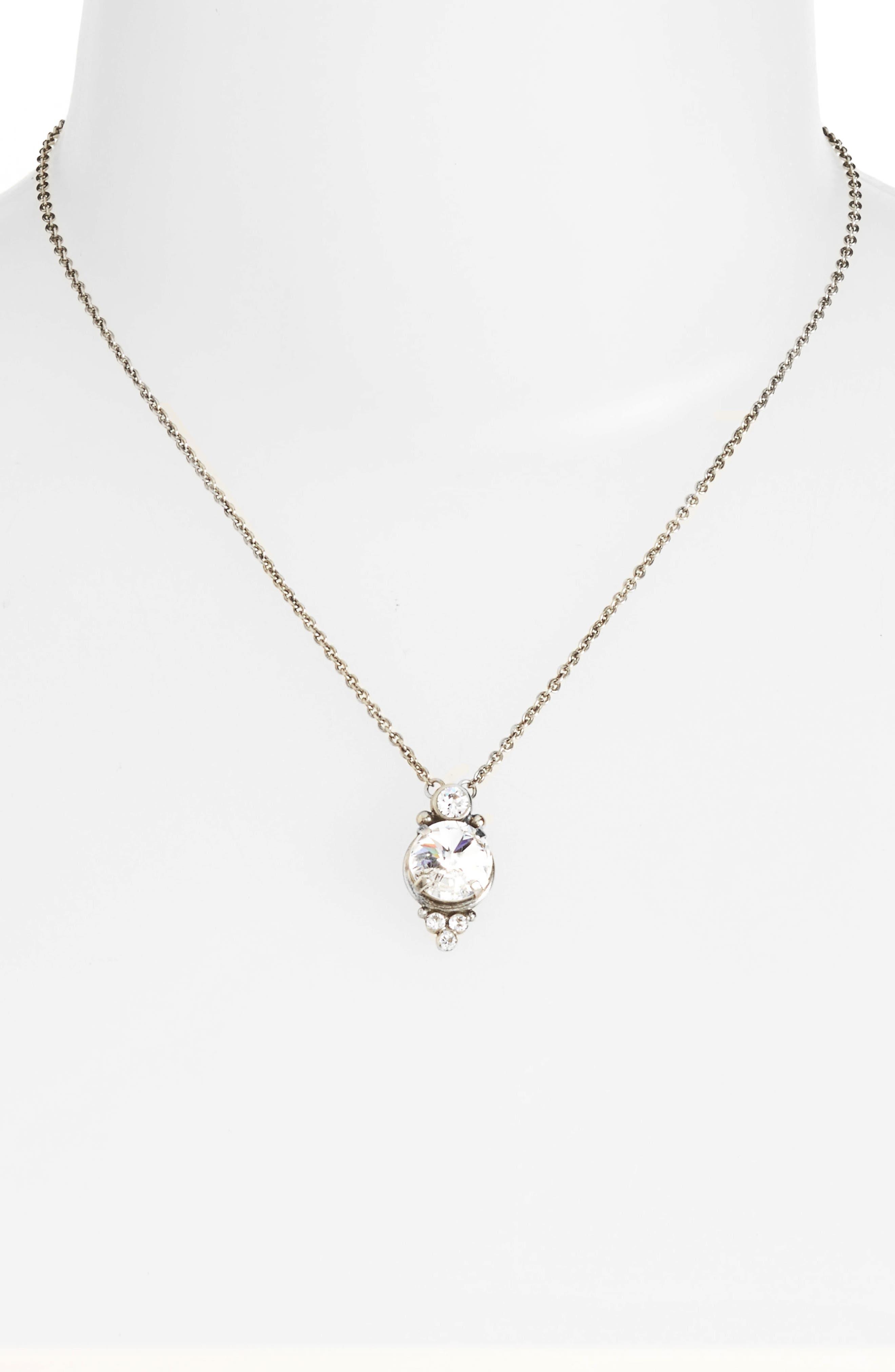 Alternate Image 2  - Sorrelli Radiant Crystal Pendant Necklace