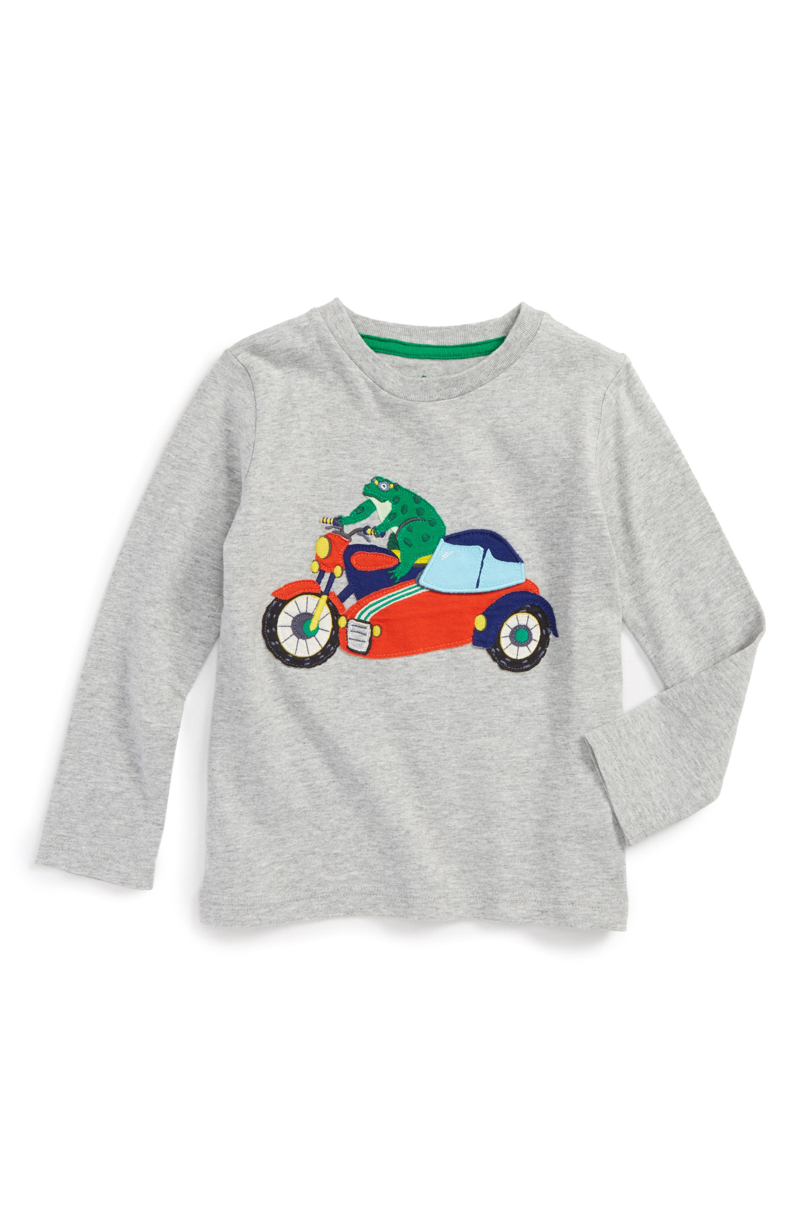 Alternate Image 1 Selected - Mini Boden Novelty Vehicle T-Shirt (Toddler Boys, Little Boys & Big Boys)
