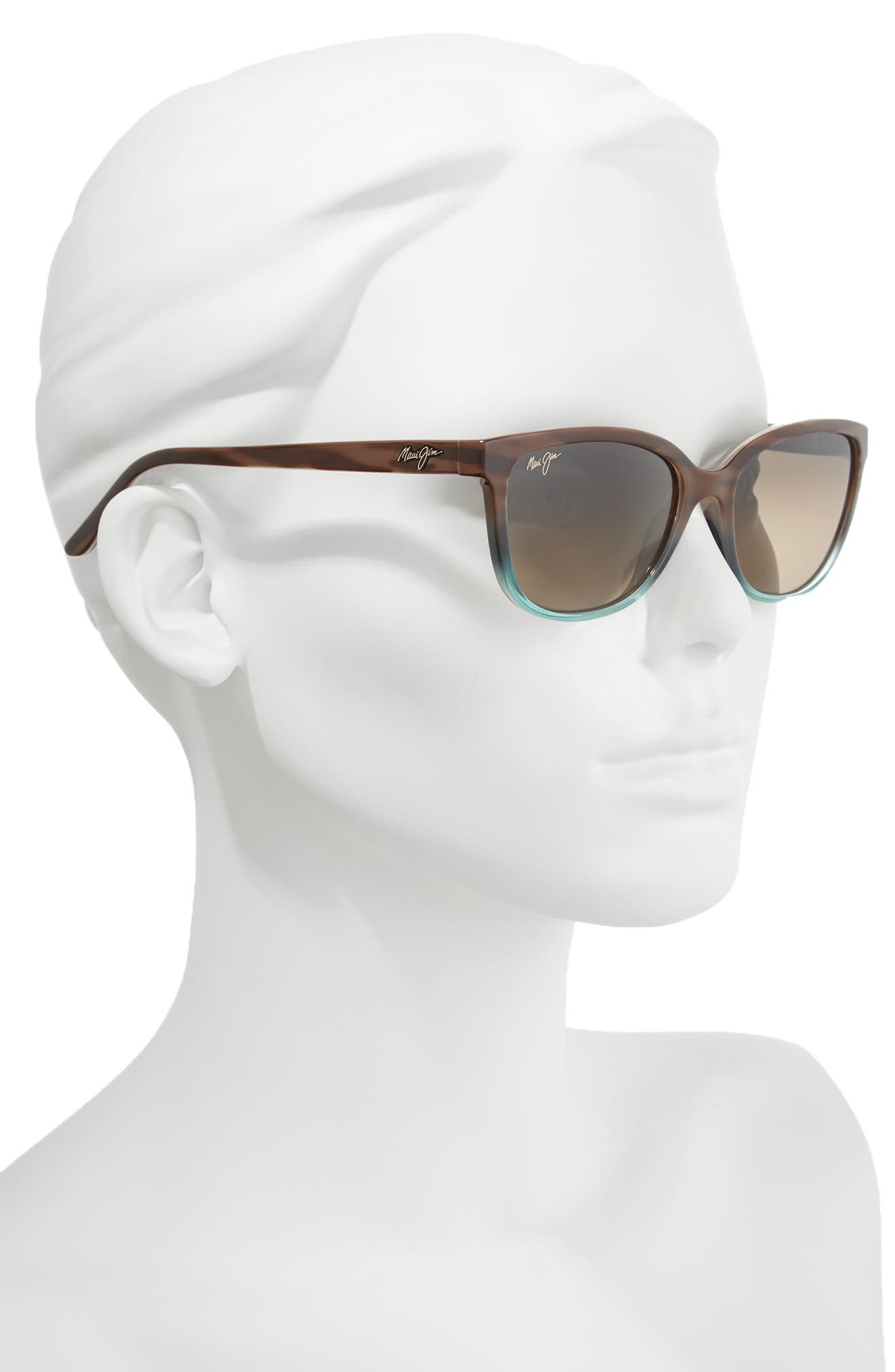 Alternate Image 2  - Maui Jim Honi 54mm Polarized Cat Eye Sunglasses