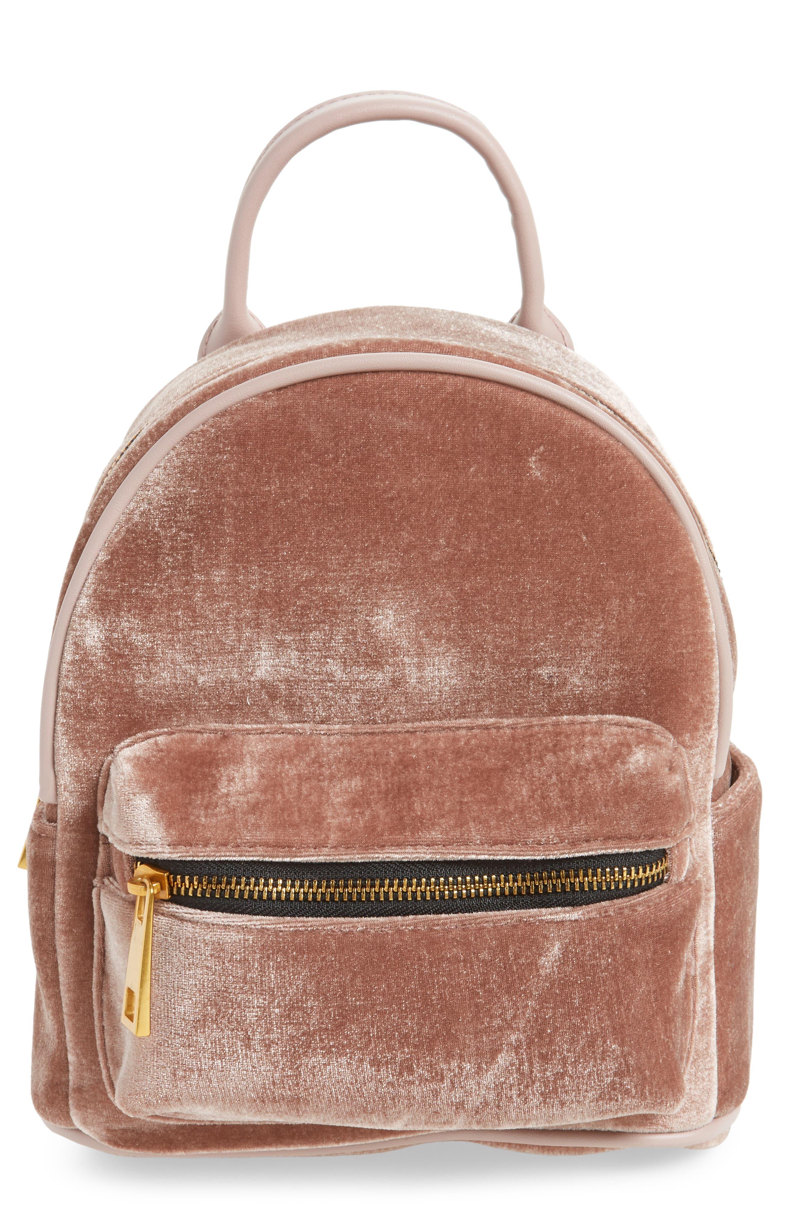Alternate Image 1 Selected - Street Level Velvet Backpack