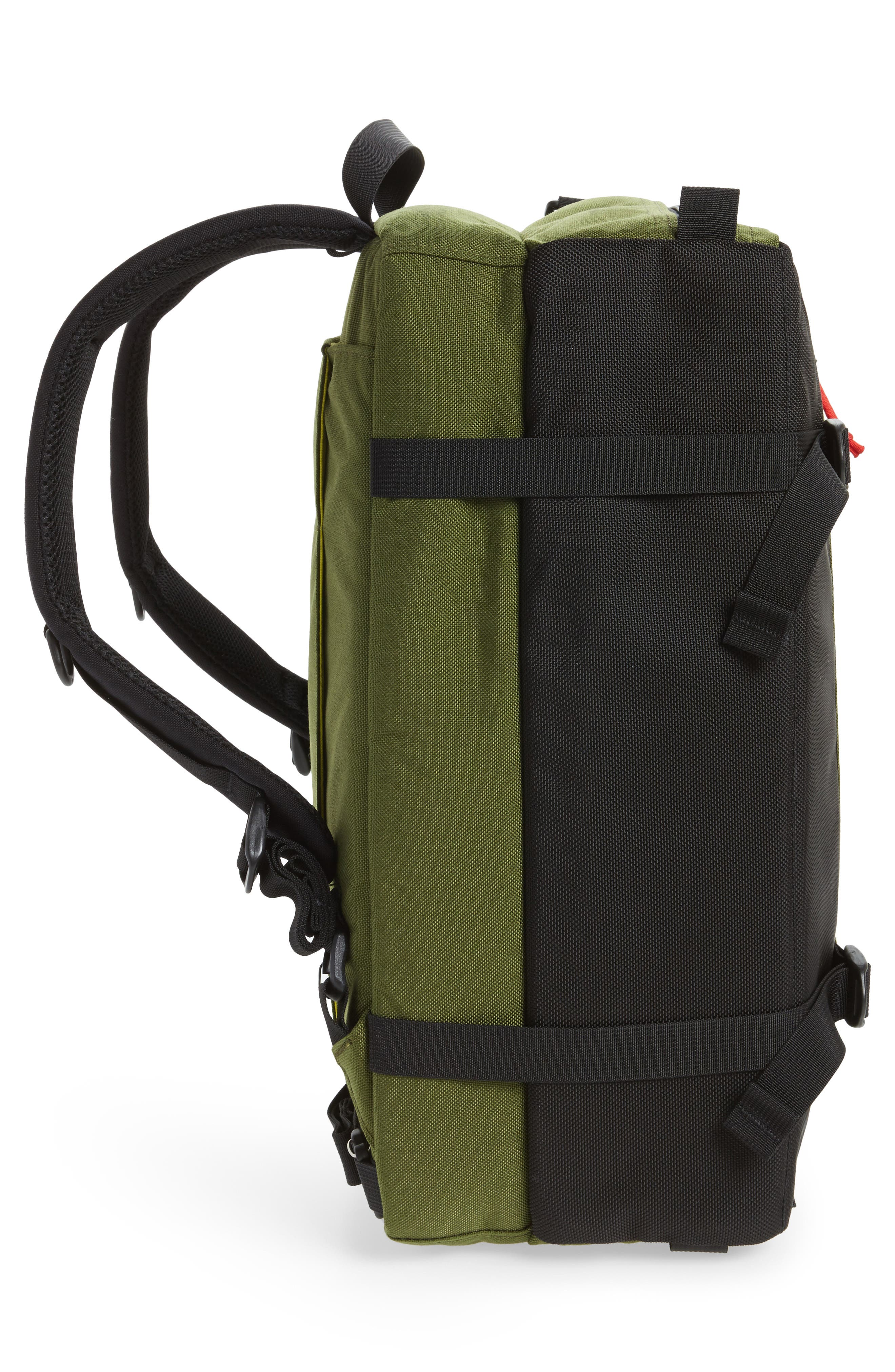 3-Day Briefcase,                             Alternate thumbnail 5, color,                             Olive/ Ballistic Black