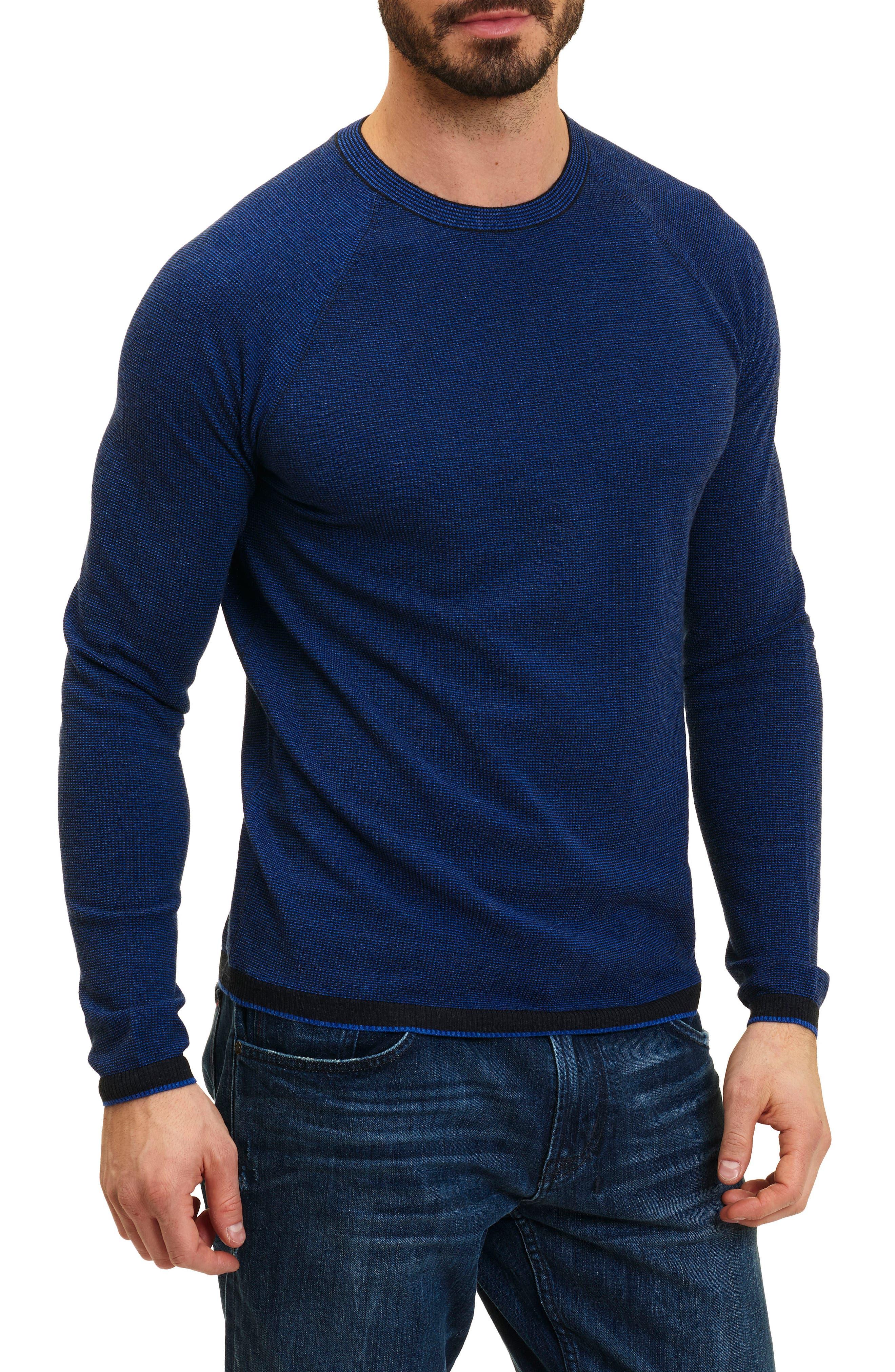 Main Image - Robert Graham Ray Brook Wool Blend Sweater