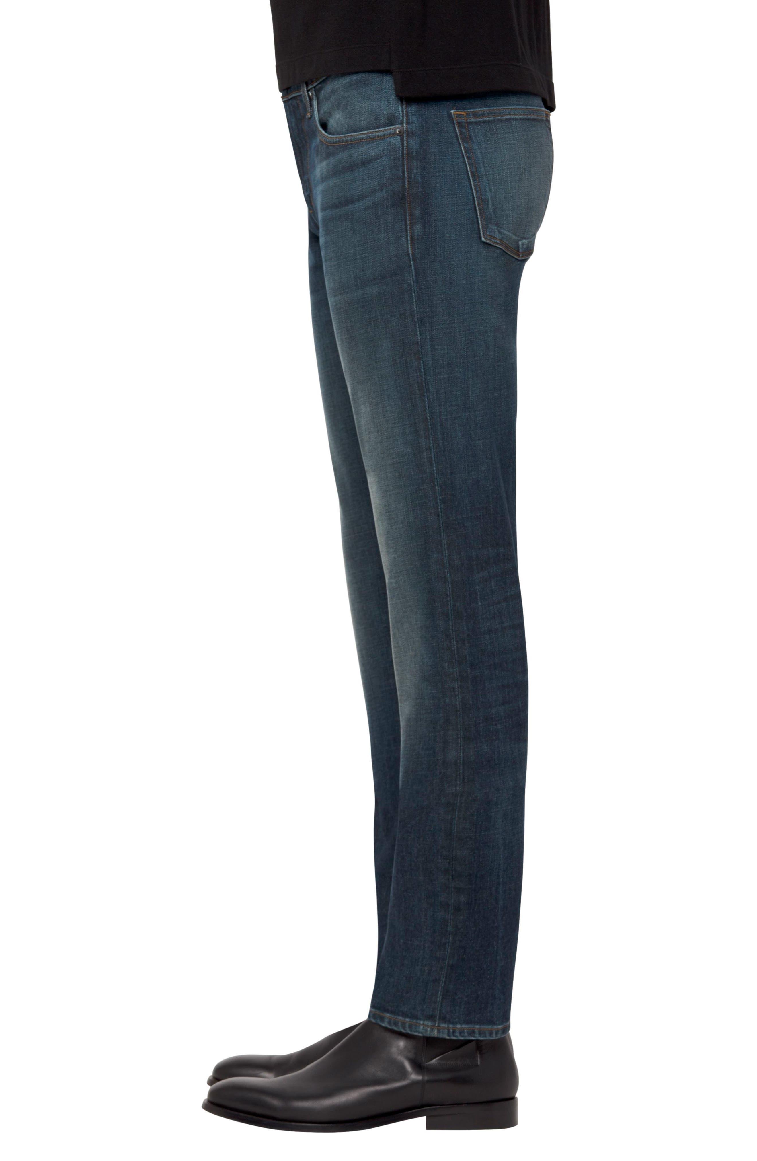 Tyler Slim Fit Jeans,                             Alternate thumbnail 3, color,                             Cuttlefish