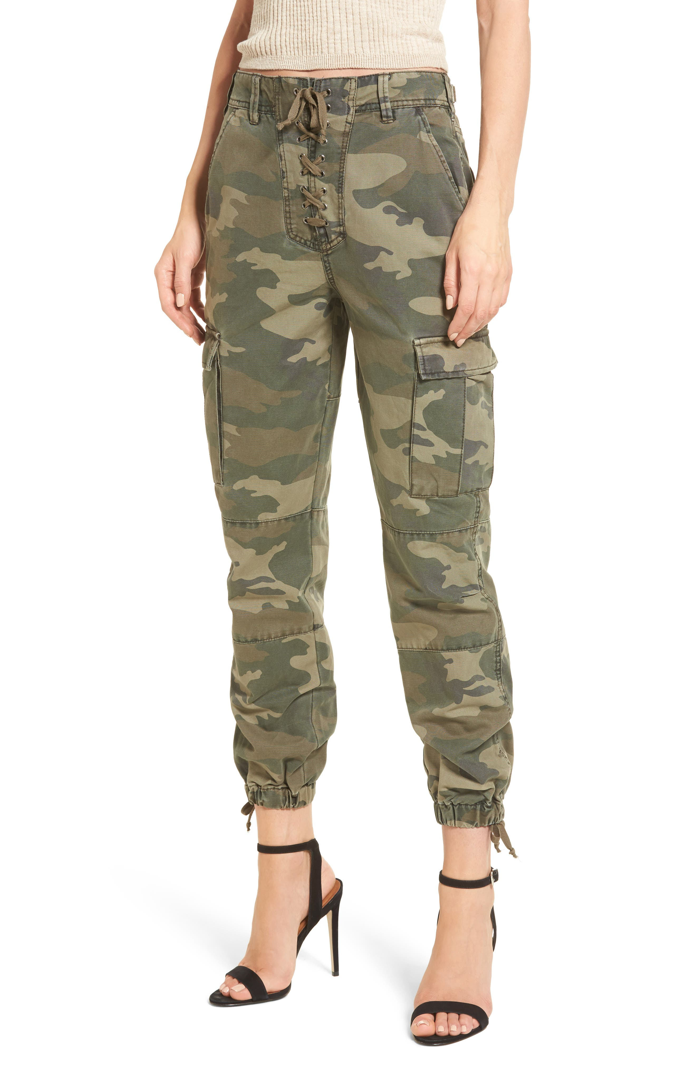 Alternate Image 1 Selected - AFRM Sullivan Army Cargo Jogger Pants