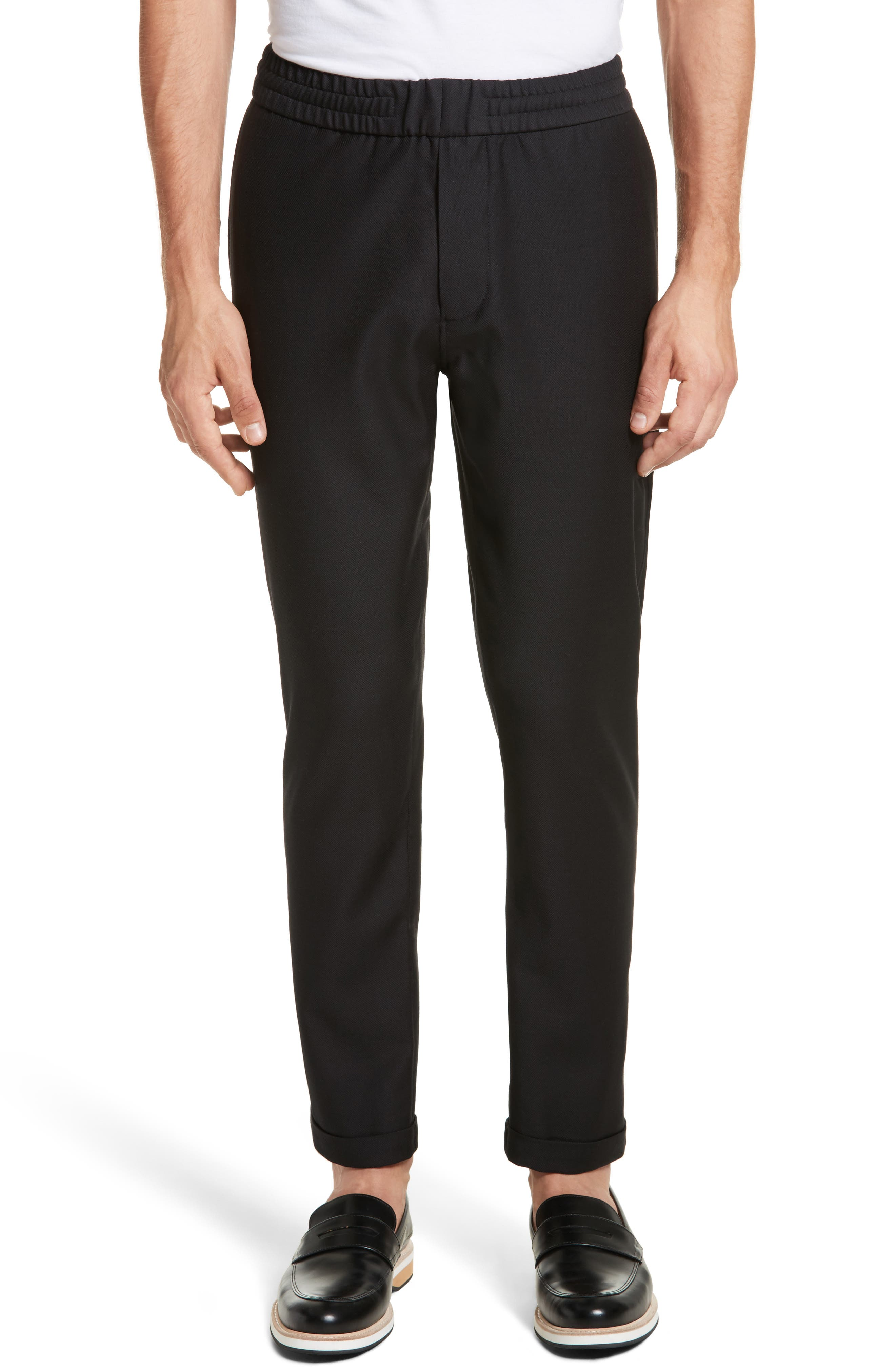 PS Paul Smith Drawstring Wool Trousers