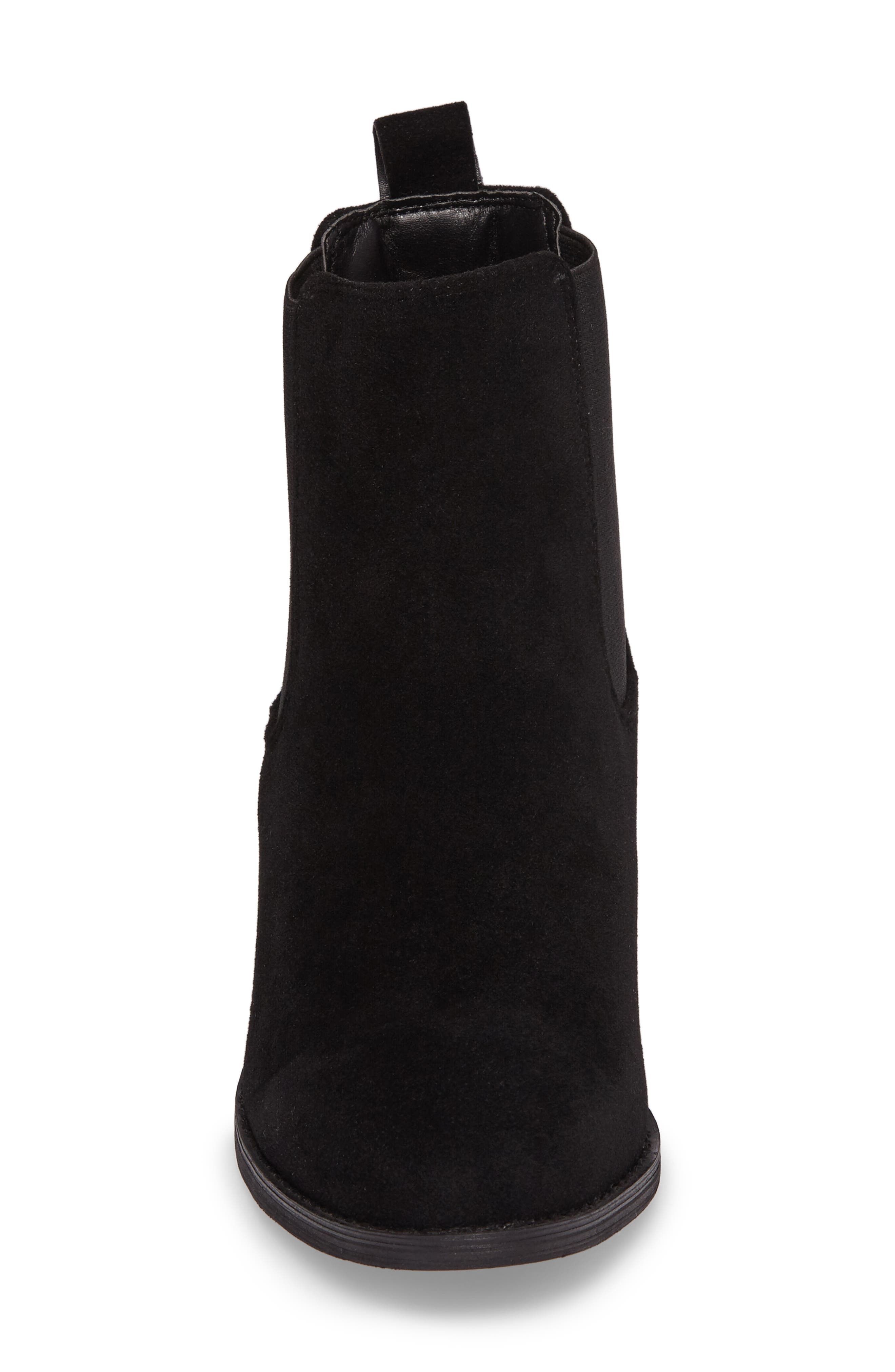 Ammore Chelsea Boot,                             Alternate thumbnail 4, color,                             Black Suede