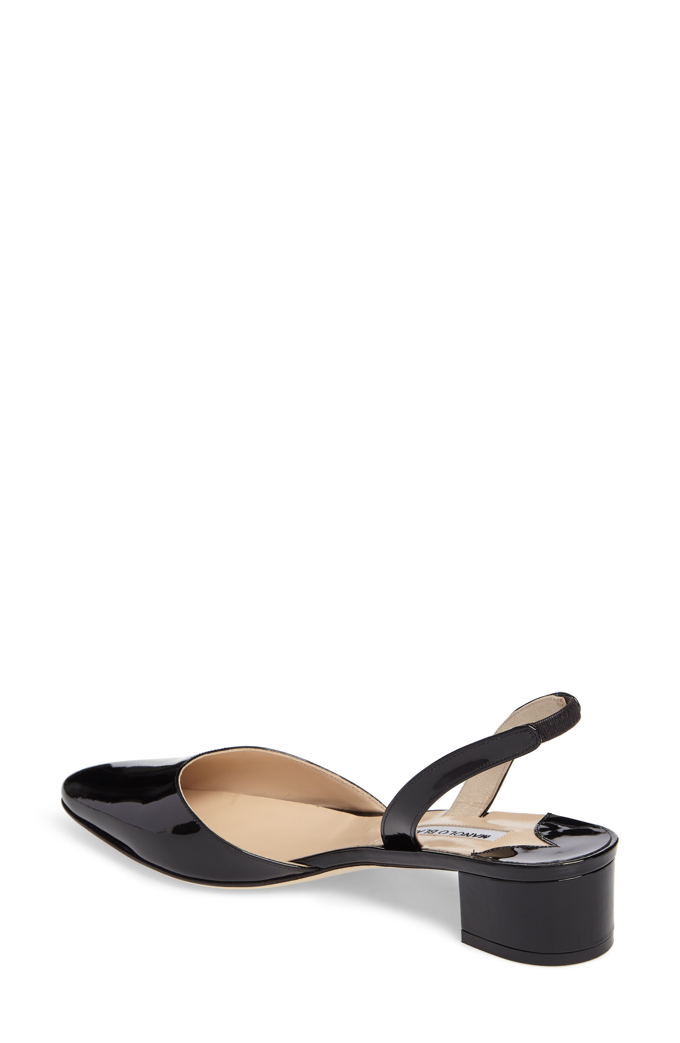 Alternate Image 2  - Manolo Blahnik Aspro Block Heel Pump (Women)