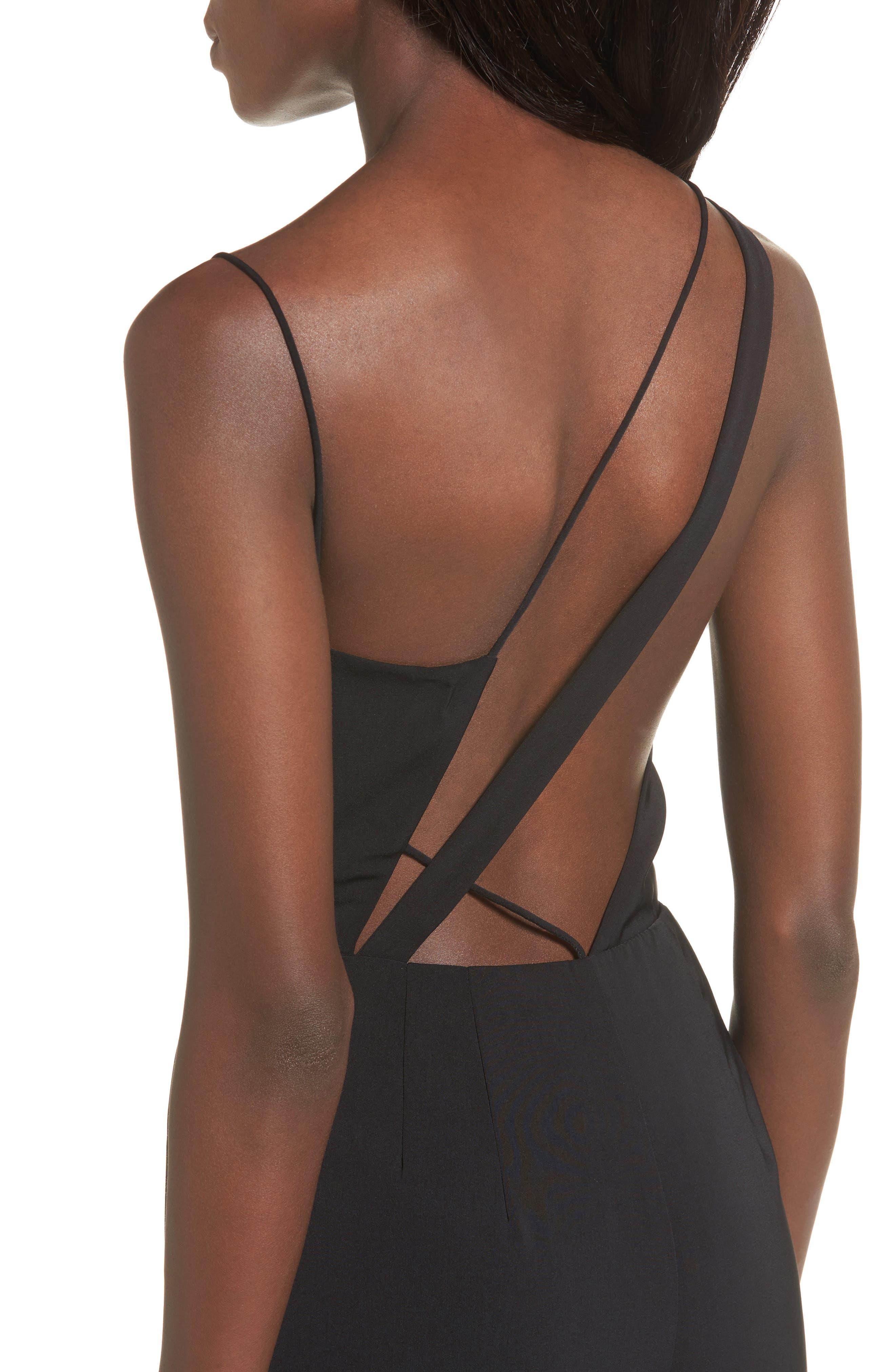 Be Mine Jumpsuit,                             Alternate thumbnail 4, color,                             Black