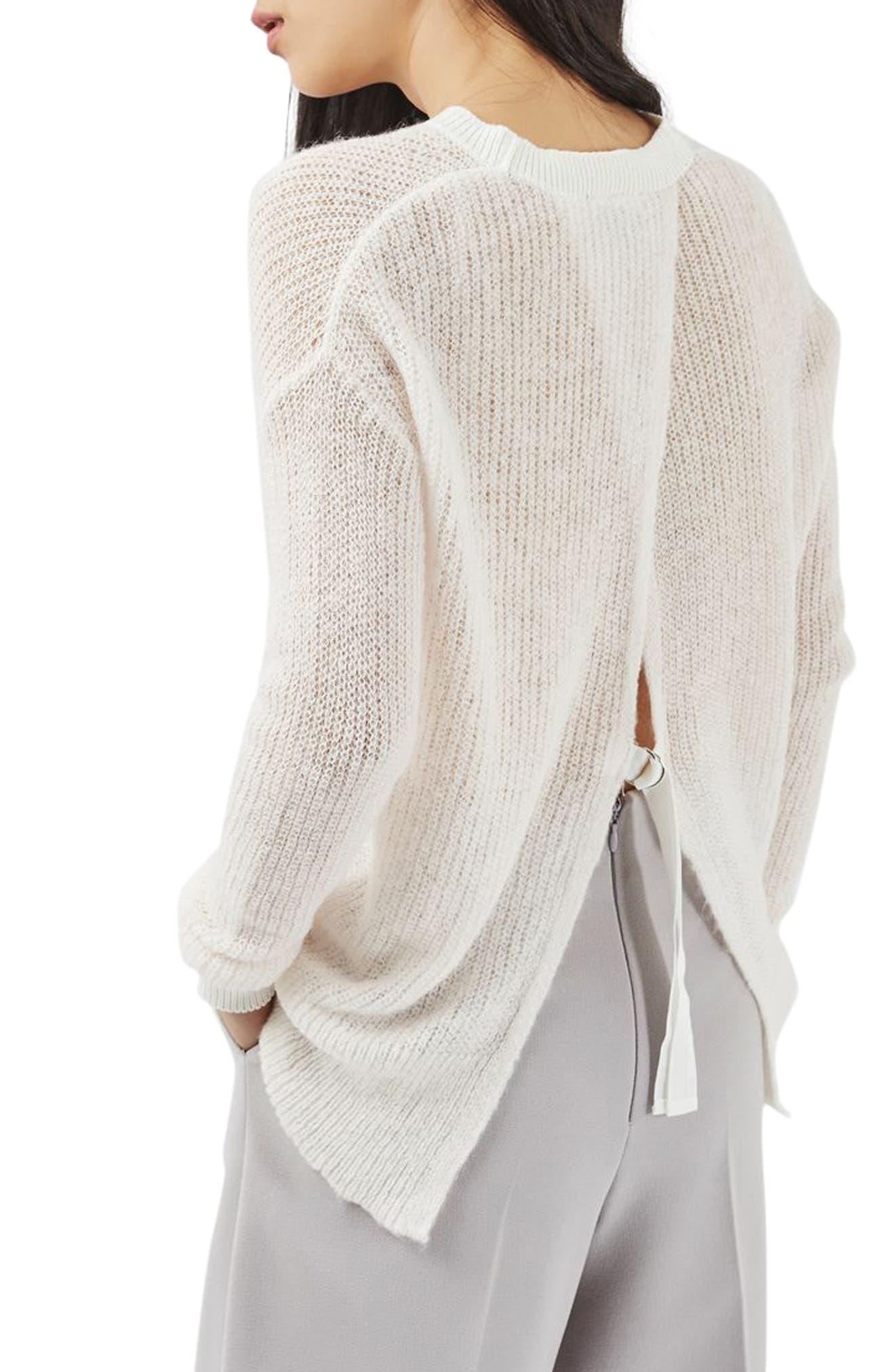 Alternate Image 3  - Topshop Envelope Back Sweater