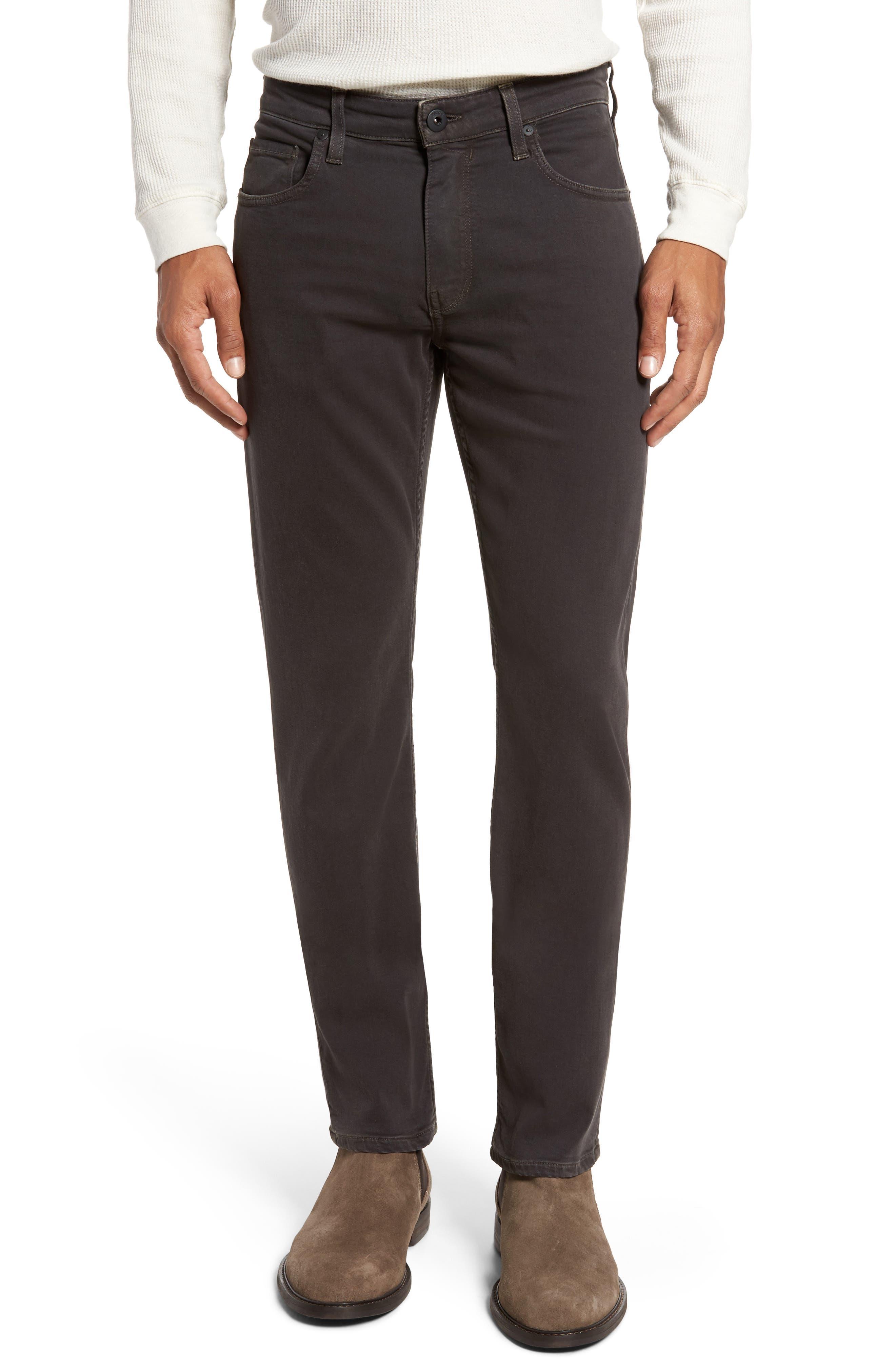 Transcend - Federal Slim Straight Leg Jeans,                         Main,                         color, Vintage Black Fade
