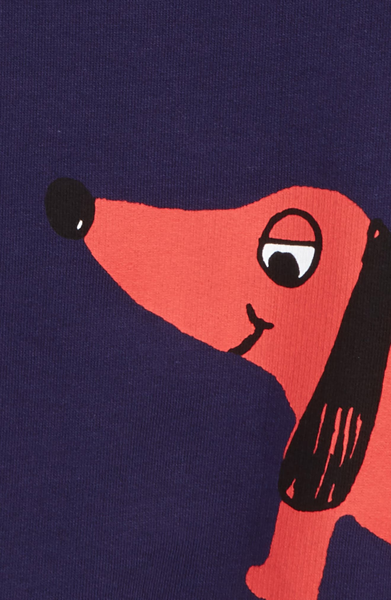 Alternate Image 3  - Mini Rodini Dog Sweatshirt (Toddler Boys & Little Boys)