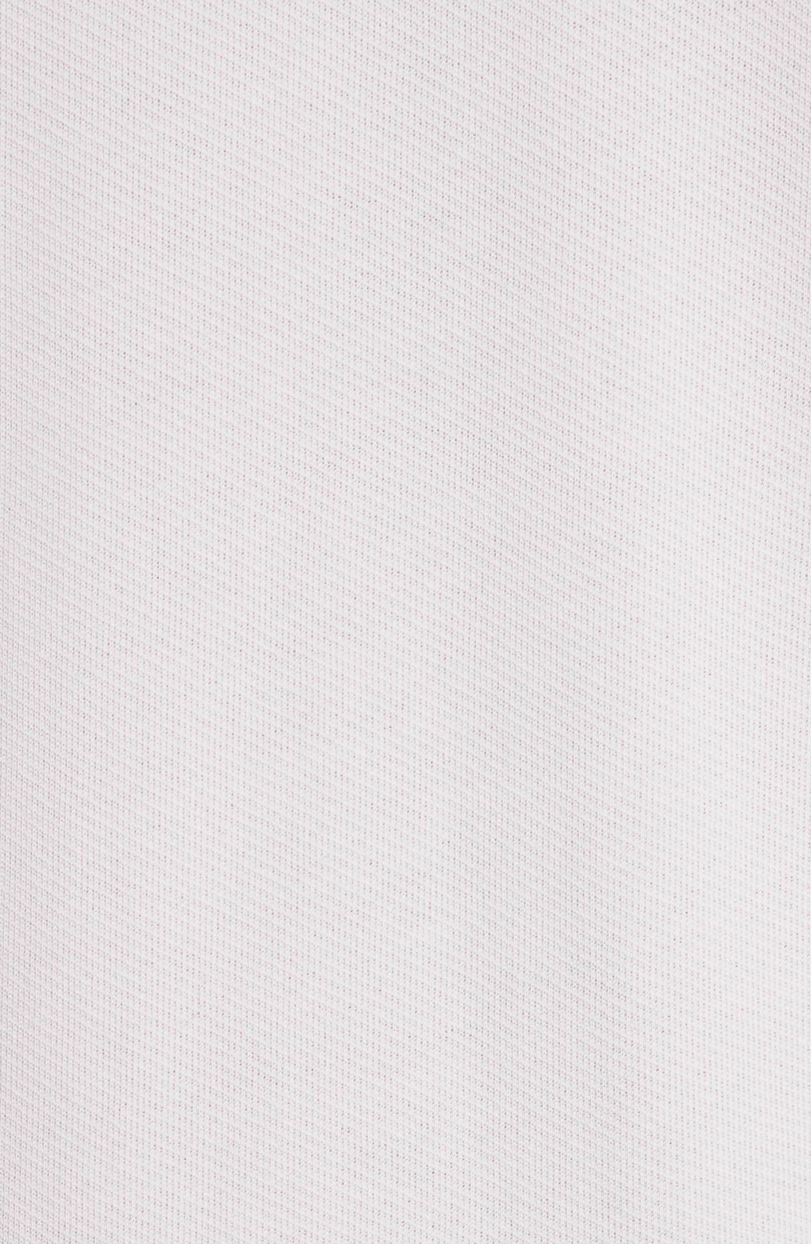 Front Zip Hoodie,                             Alternate thumbnail 5, color,                             Lavender