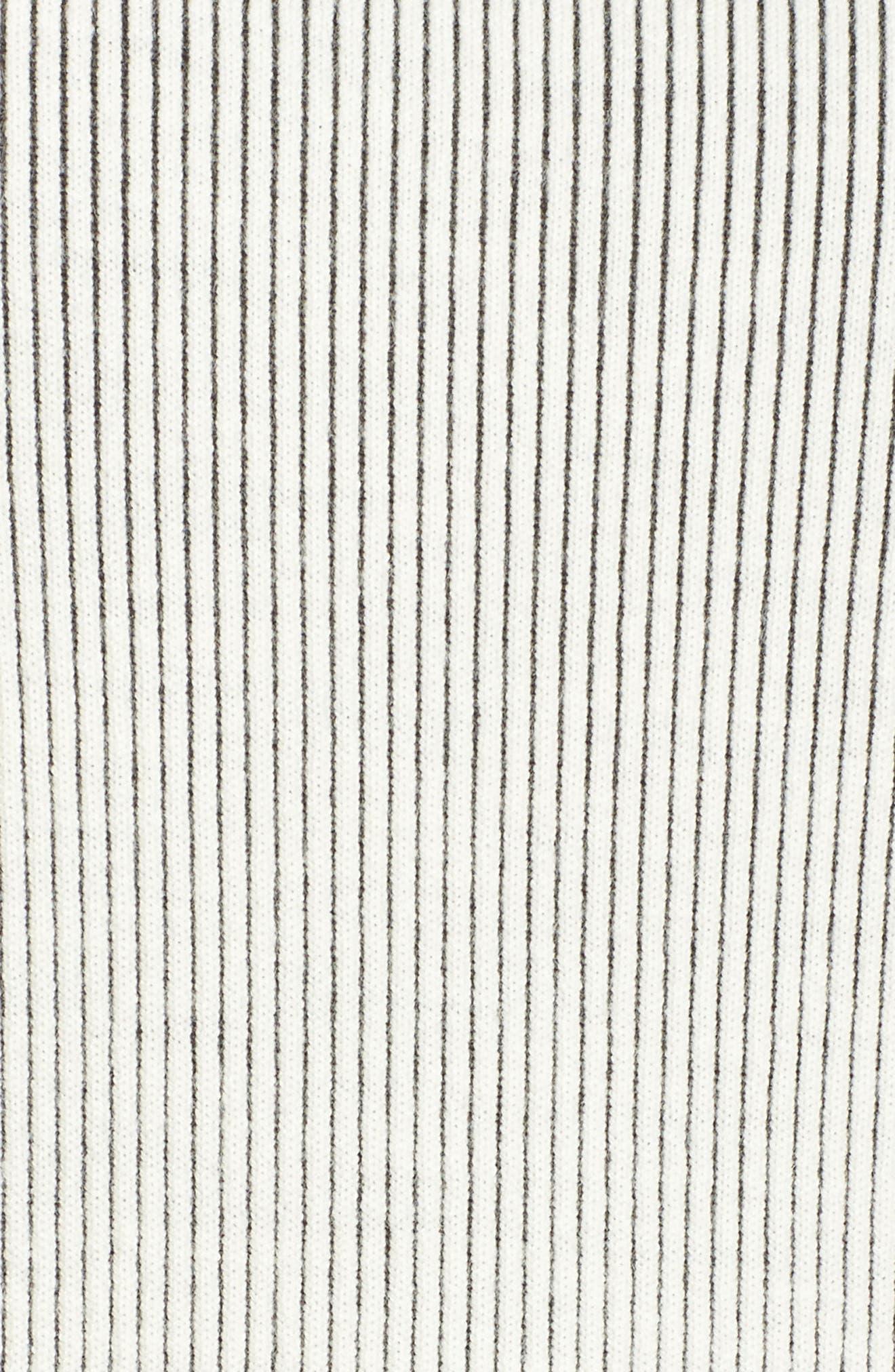 Alternate Image 5  - ELVI Ribbed Eyelet Sweater (Plus Size)