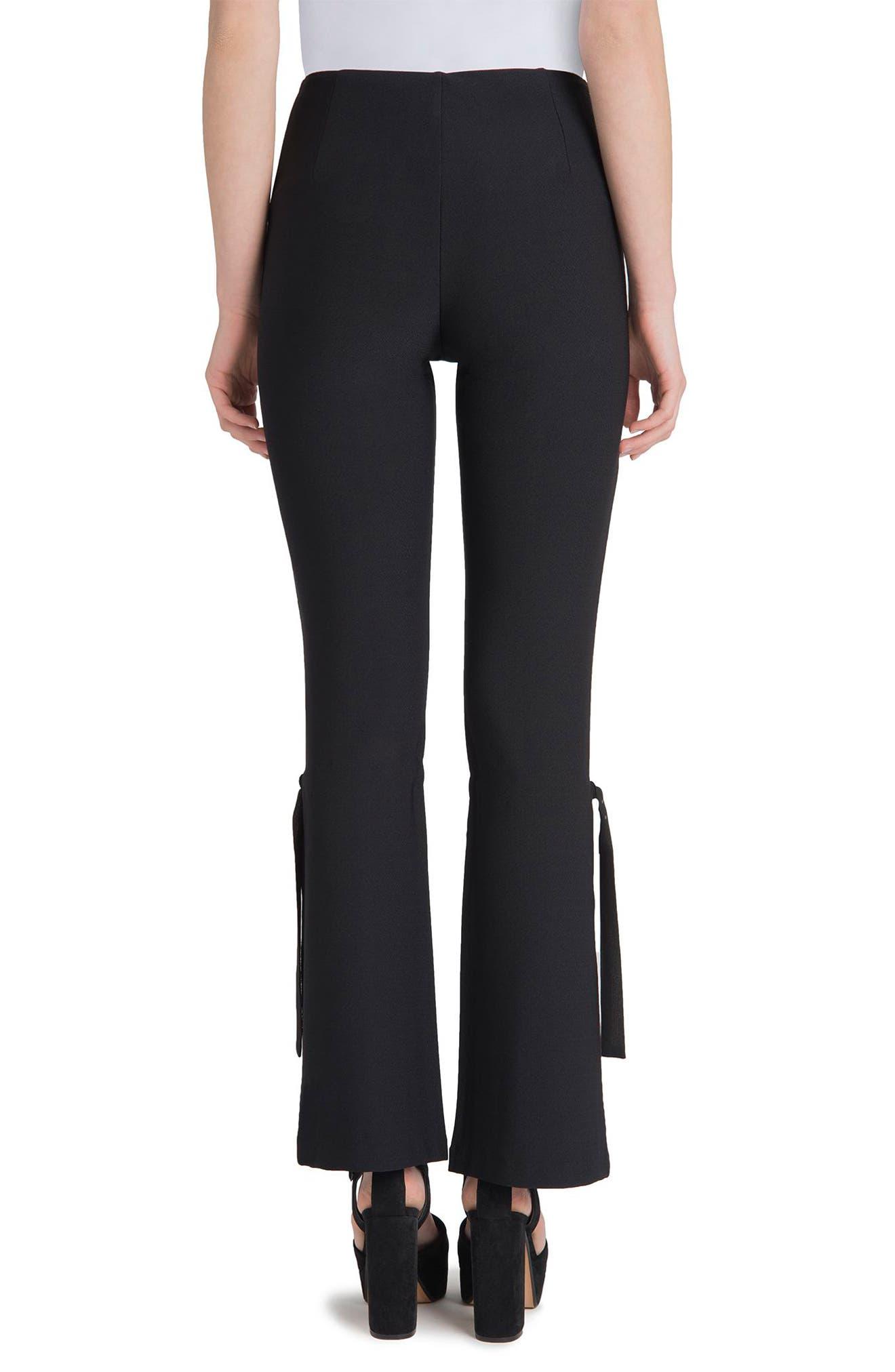 Arcadia High Waist Pants,                             Alternate thumbnail 2, color,                             Black