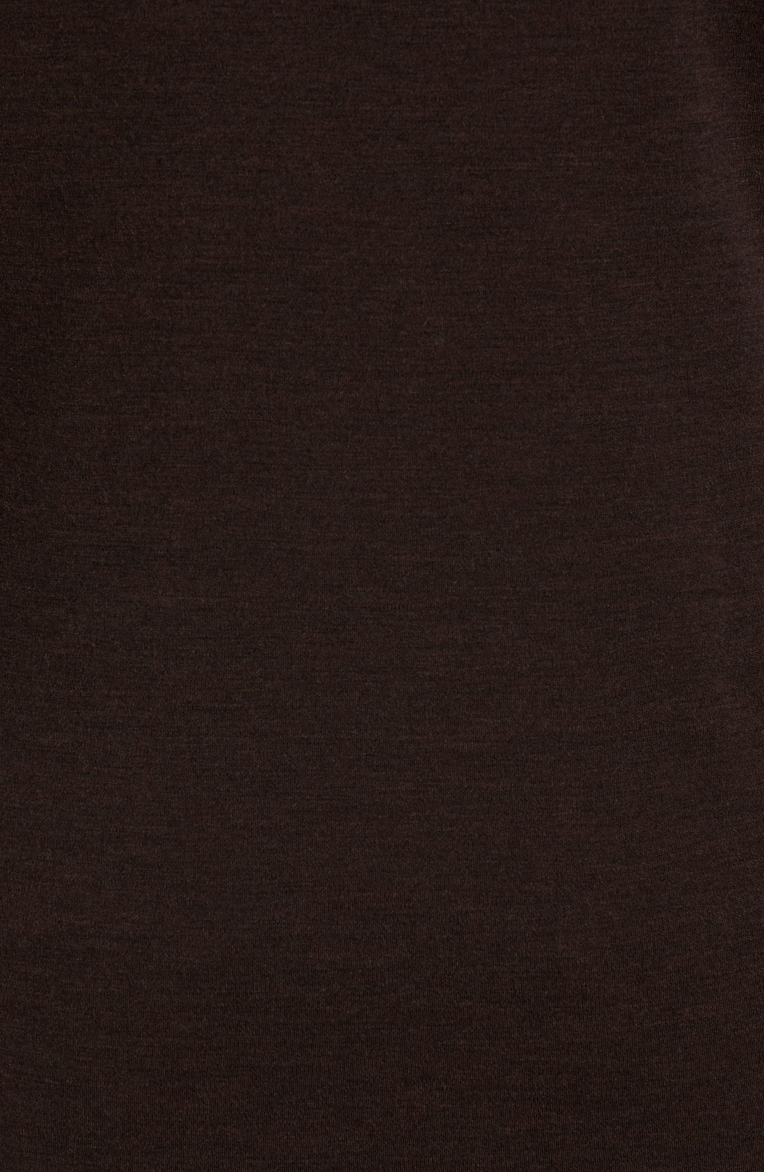Merino 250 Base Layer Crewneck T-Shirt,                             Alternate thumbnail 5, color,                             Sumatra Heather