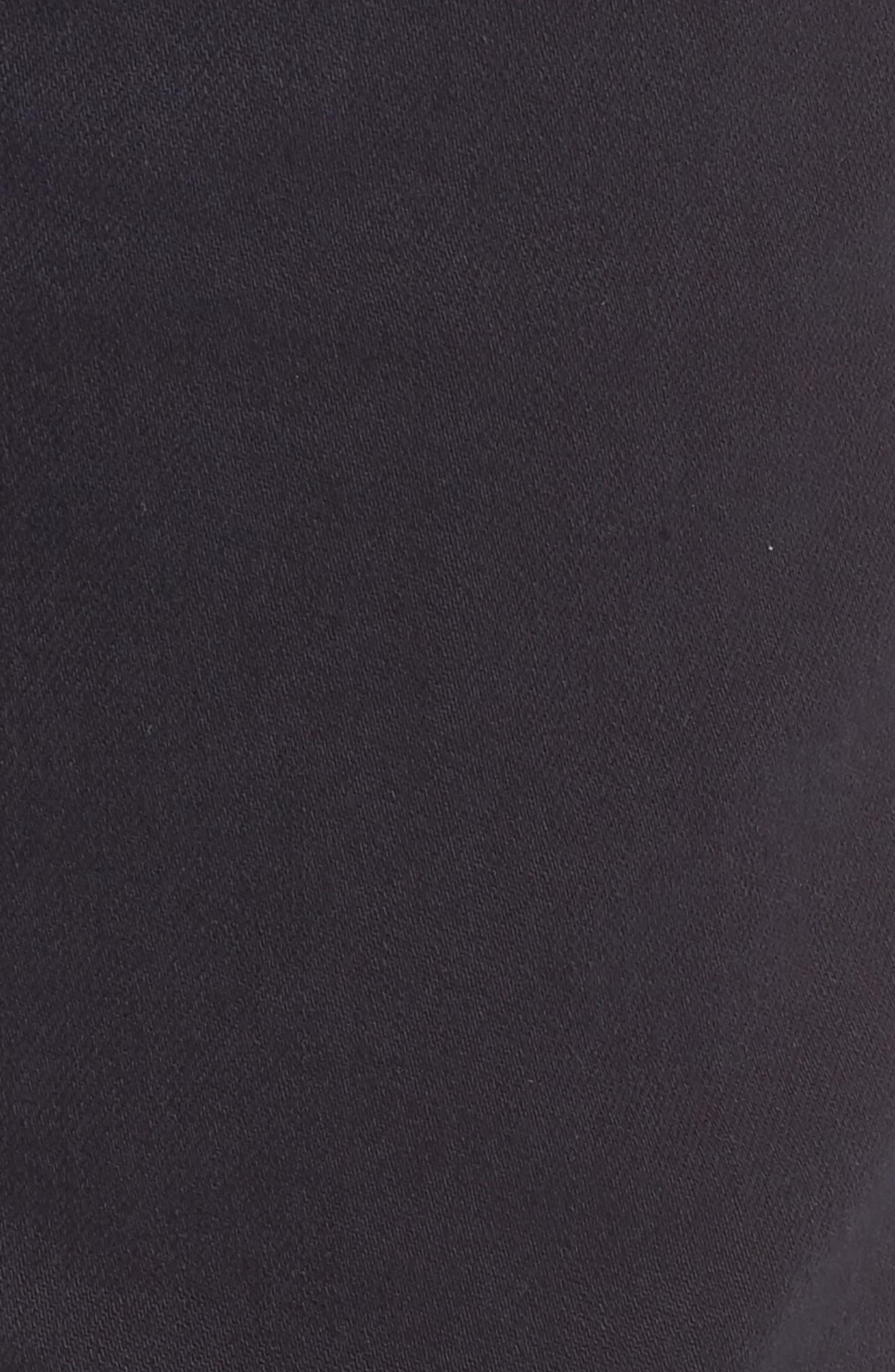 Alternate Image 5  - Raleigh Denim Alexander Straight Leg Jeans (Stretch Dark Fathom)
