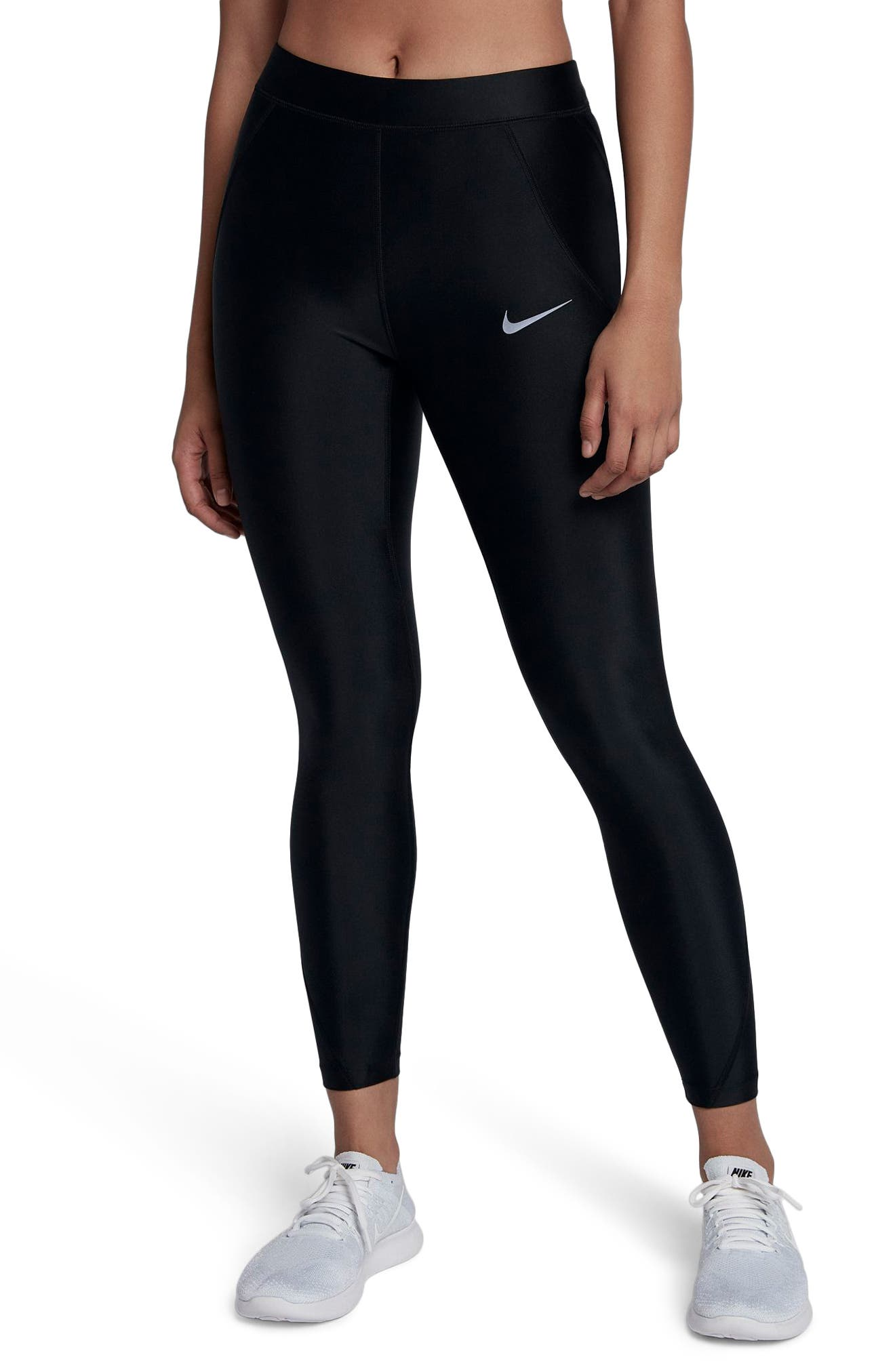 Power Speed 7/8 Running Tights by Nike