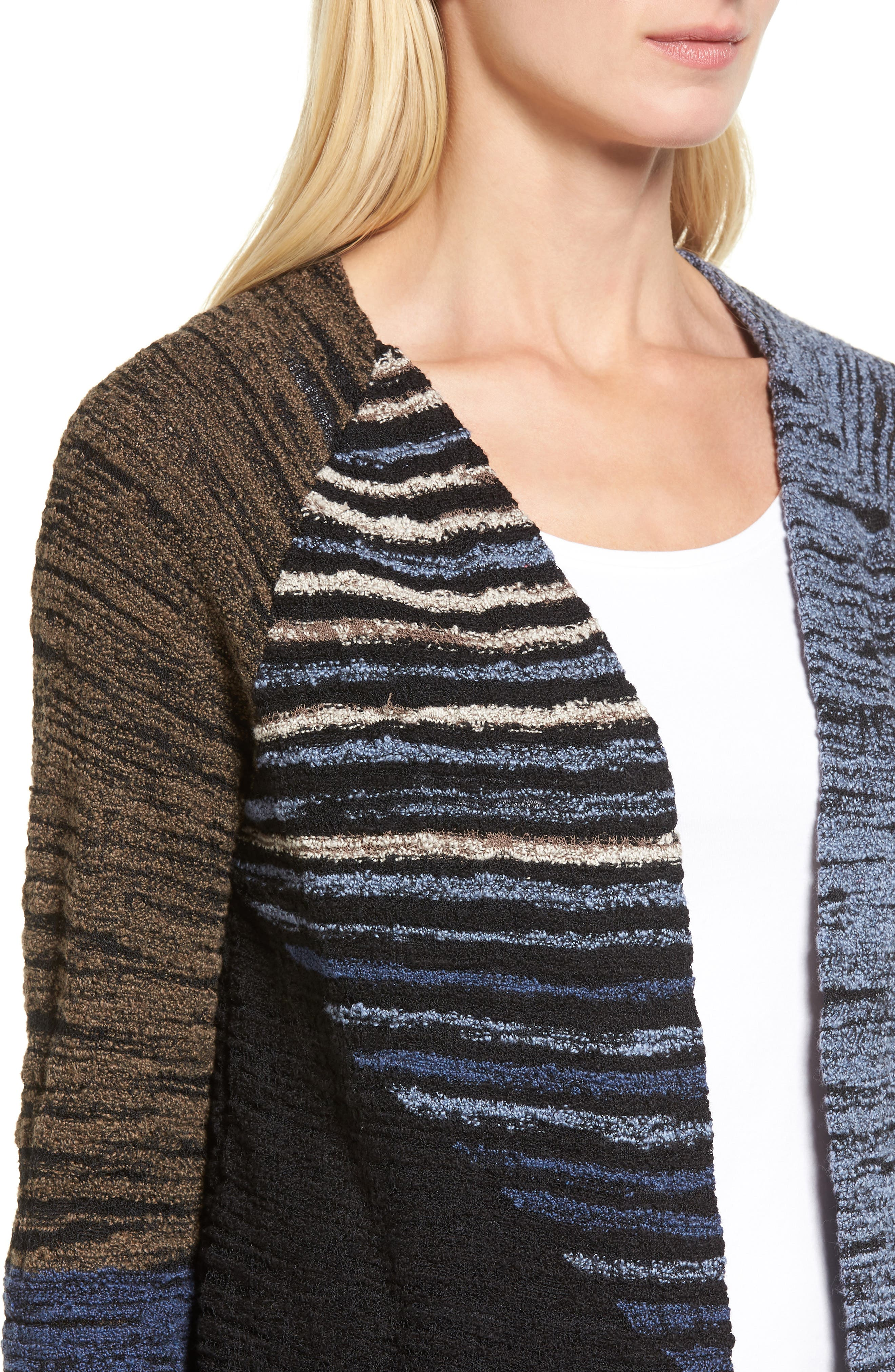 Alternate Image 4  - NIC+ZOE Layover Cardigan (Regular & Petite)