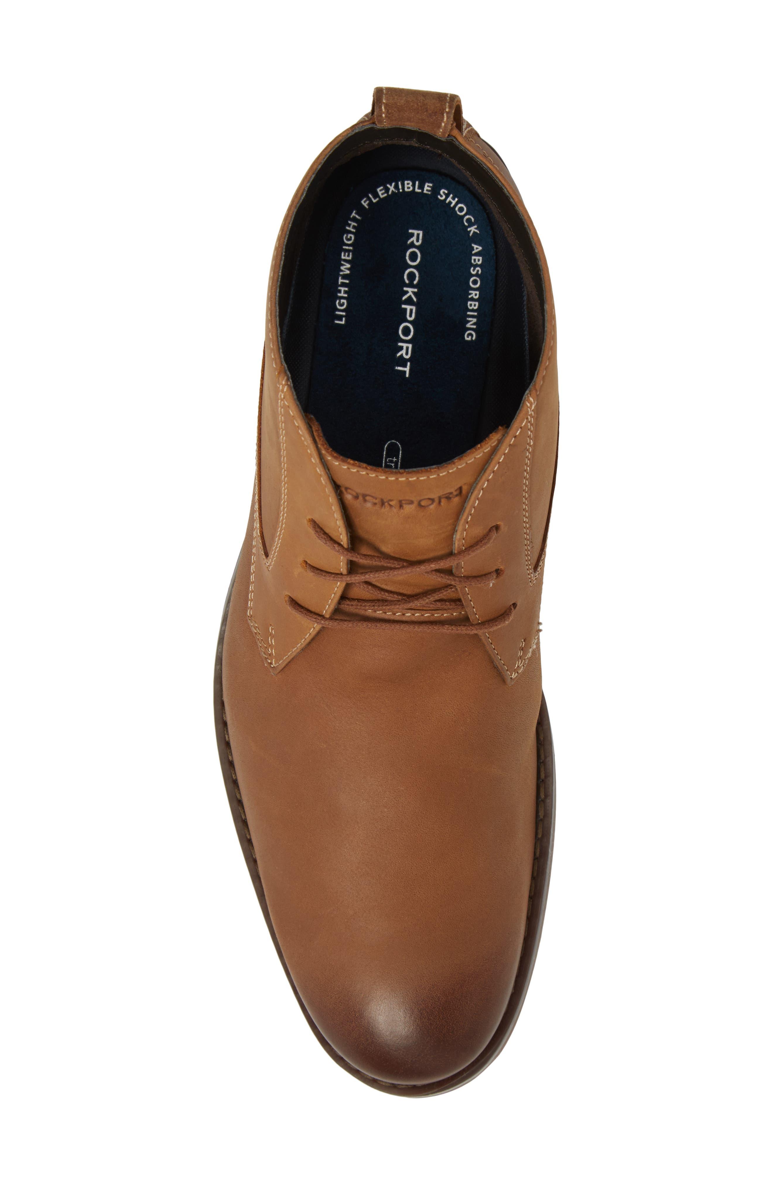 Wynstin Chukka Boot,                             Alternate thumbnail 4, color,                             Tobacco Leather
