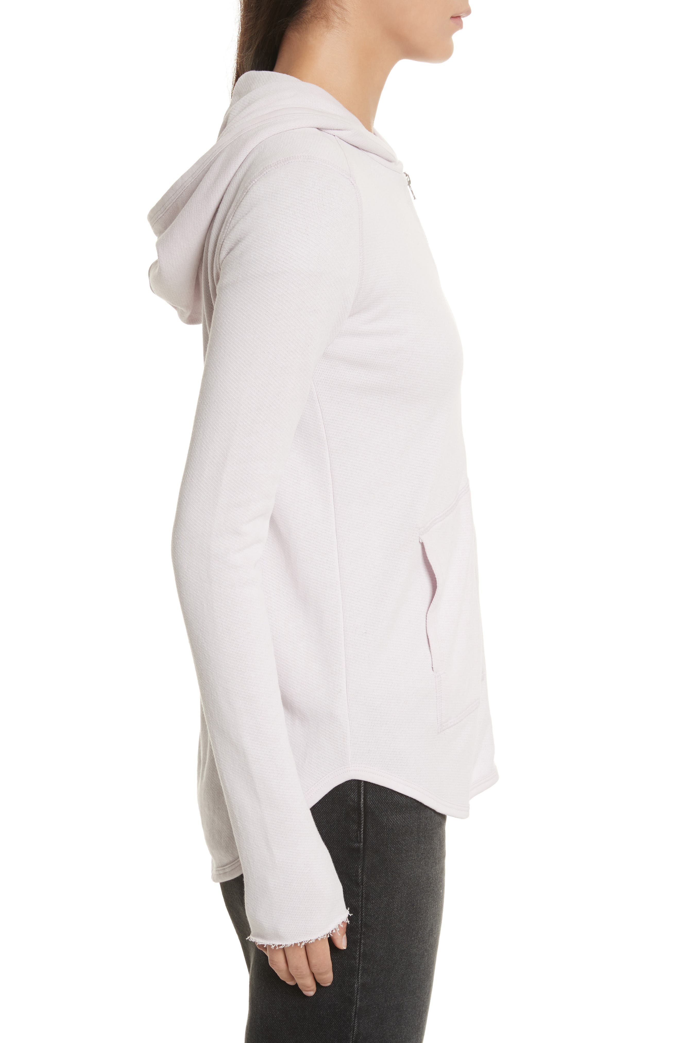 Alternate Image 3  - ATM Anthony Thomas Melillo Front Zip Hoodie (Nordstrom Exclusive)