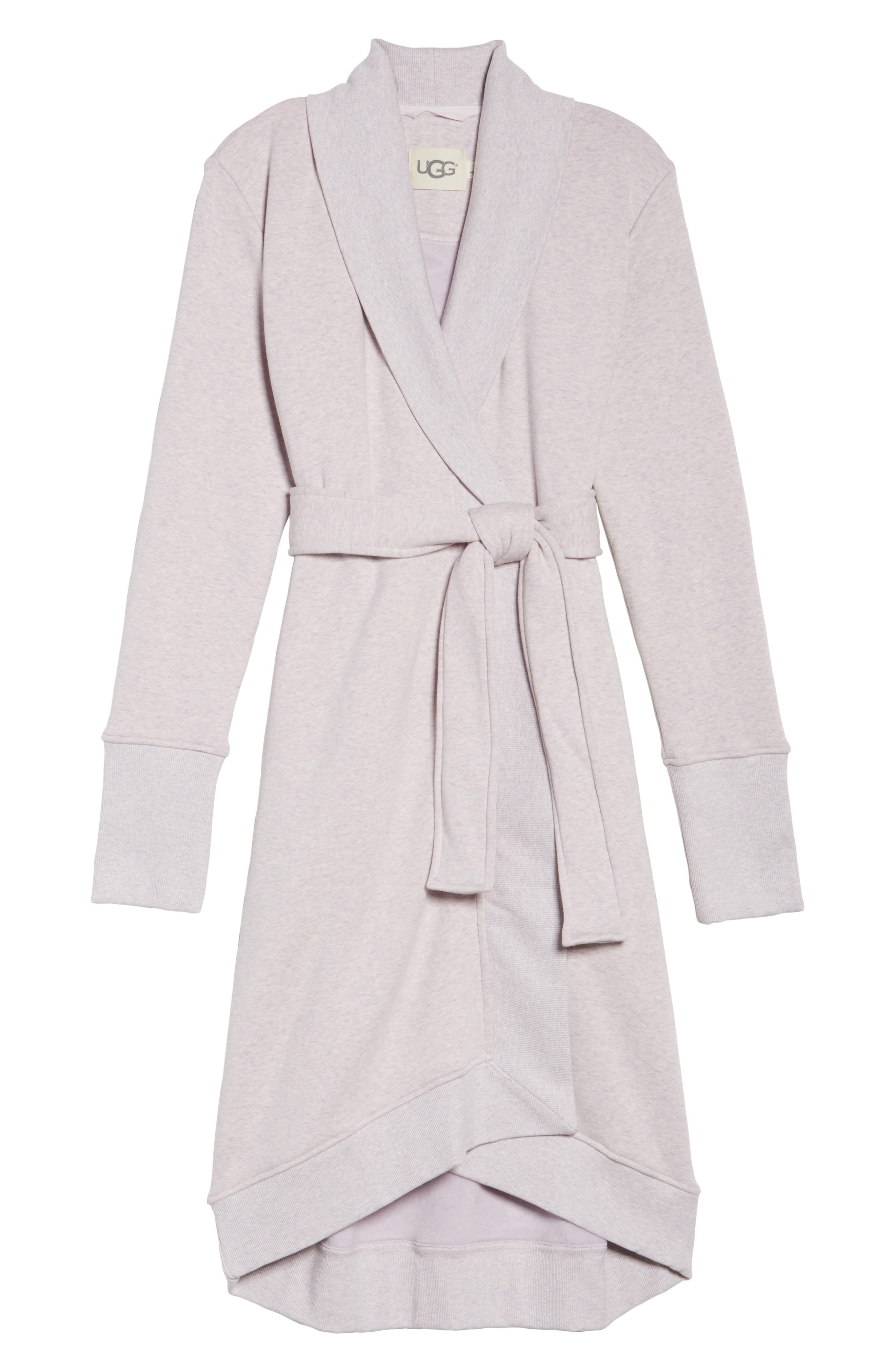 Alternate Image 4  - UGG® 'Karoline' Fleece Robe