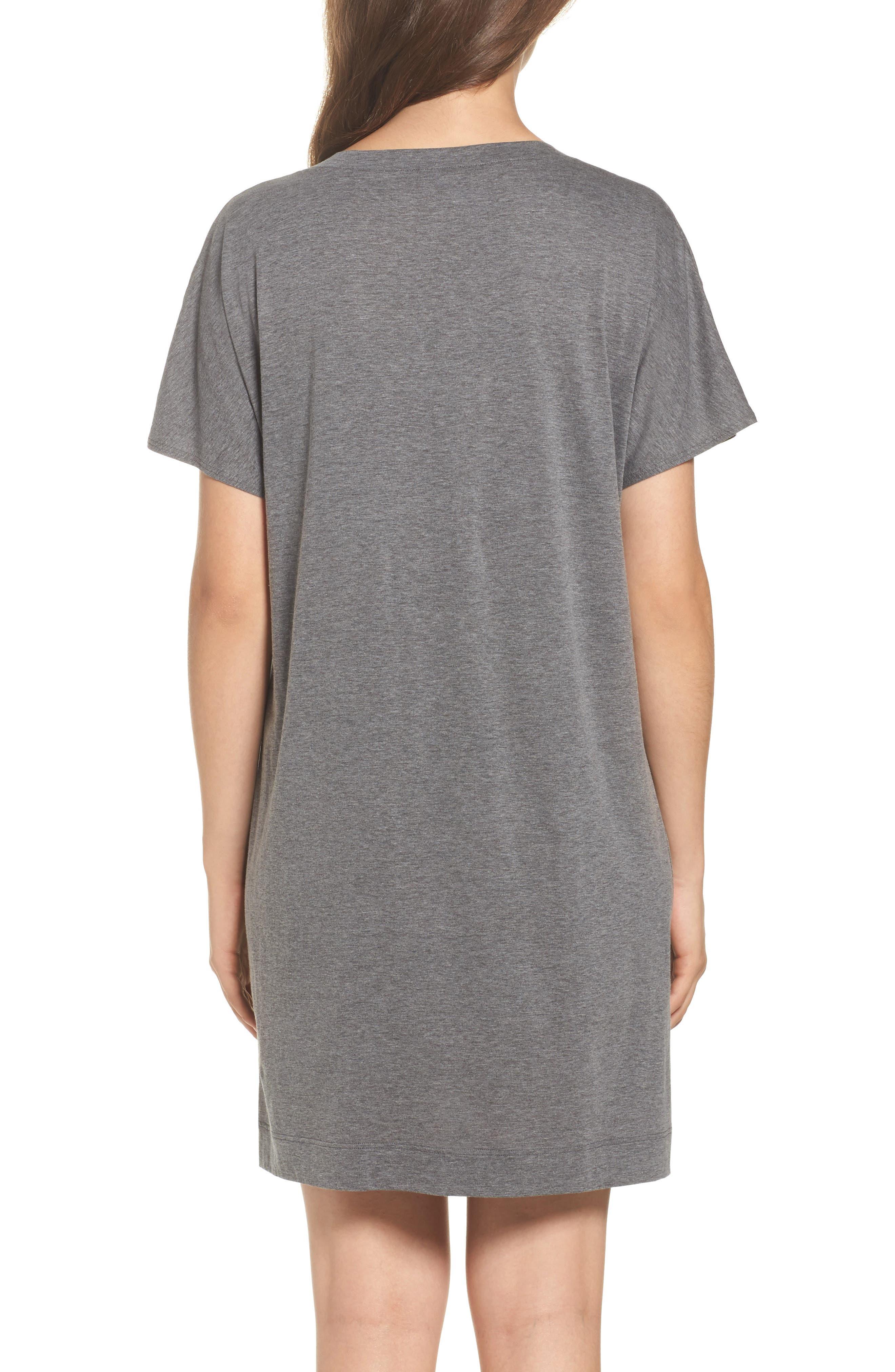 Alternate Image 2  - Hanro Laura Jersey Sleep Shirt
