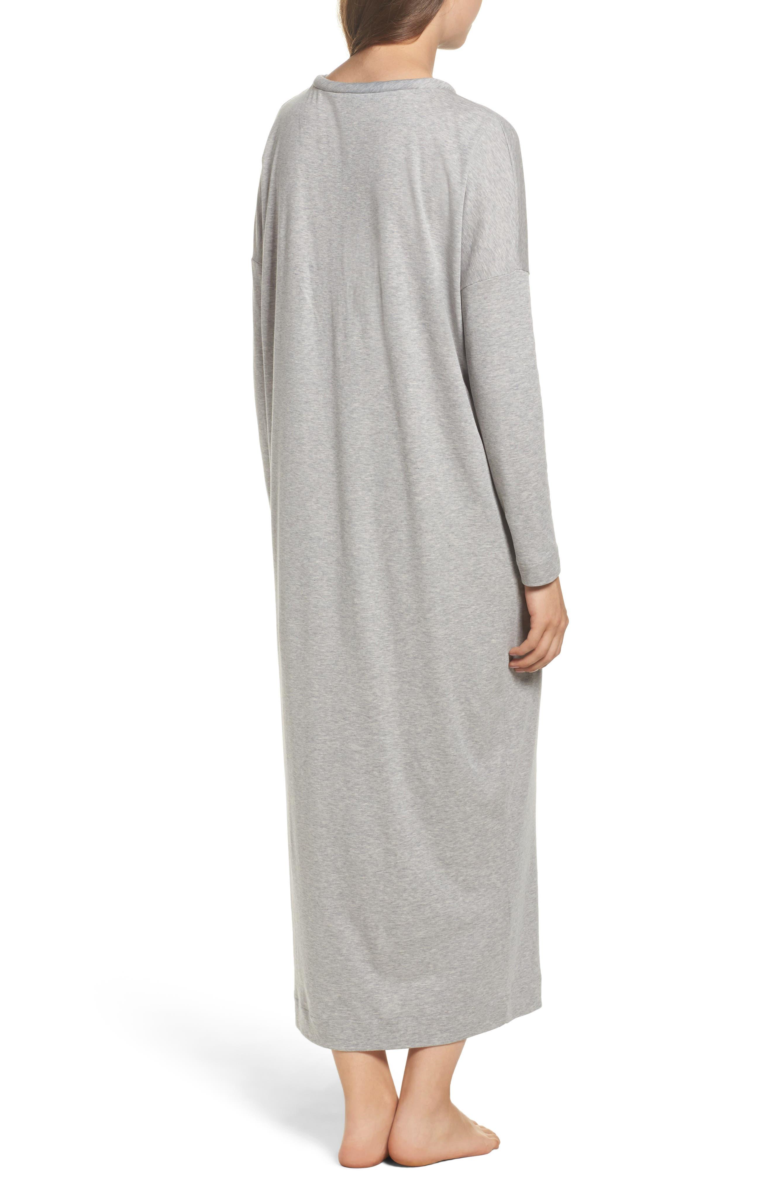 Alternate Image 2  - Hanro Enie Cotton Nightgown
