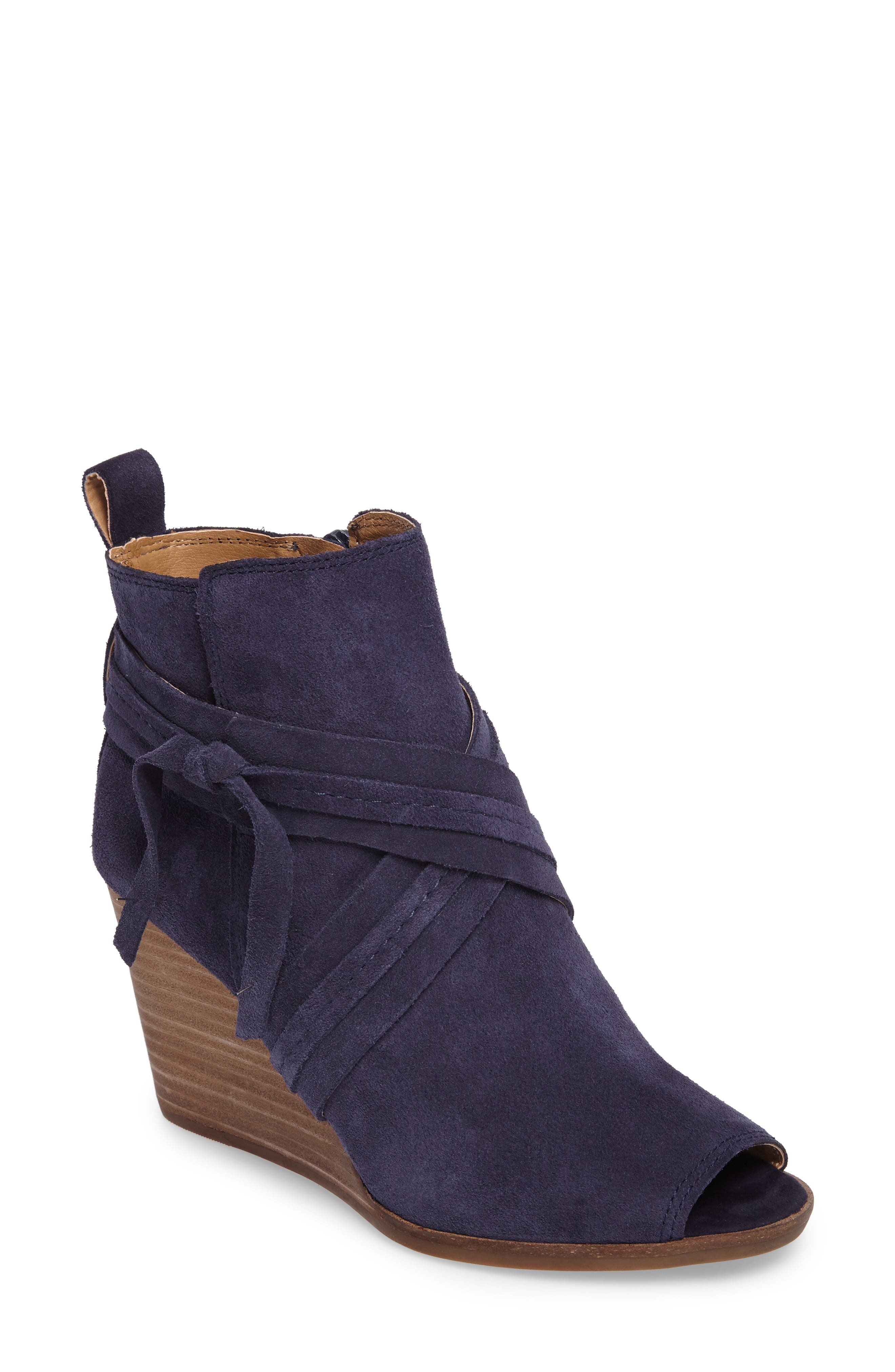 Alternate Image 1 Selected - Lucky Brand Udom Wedge Bootie (Women)