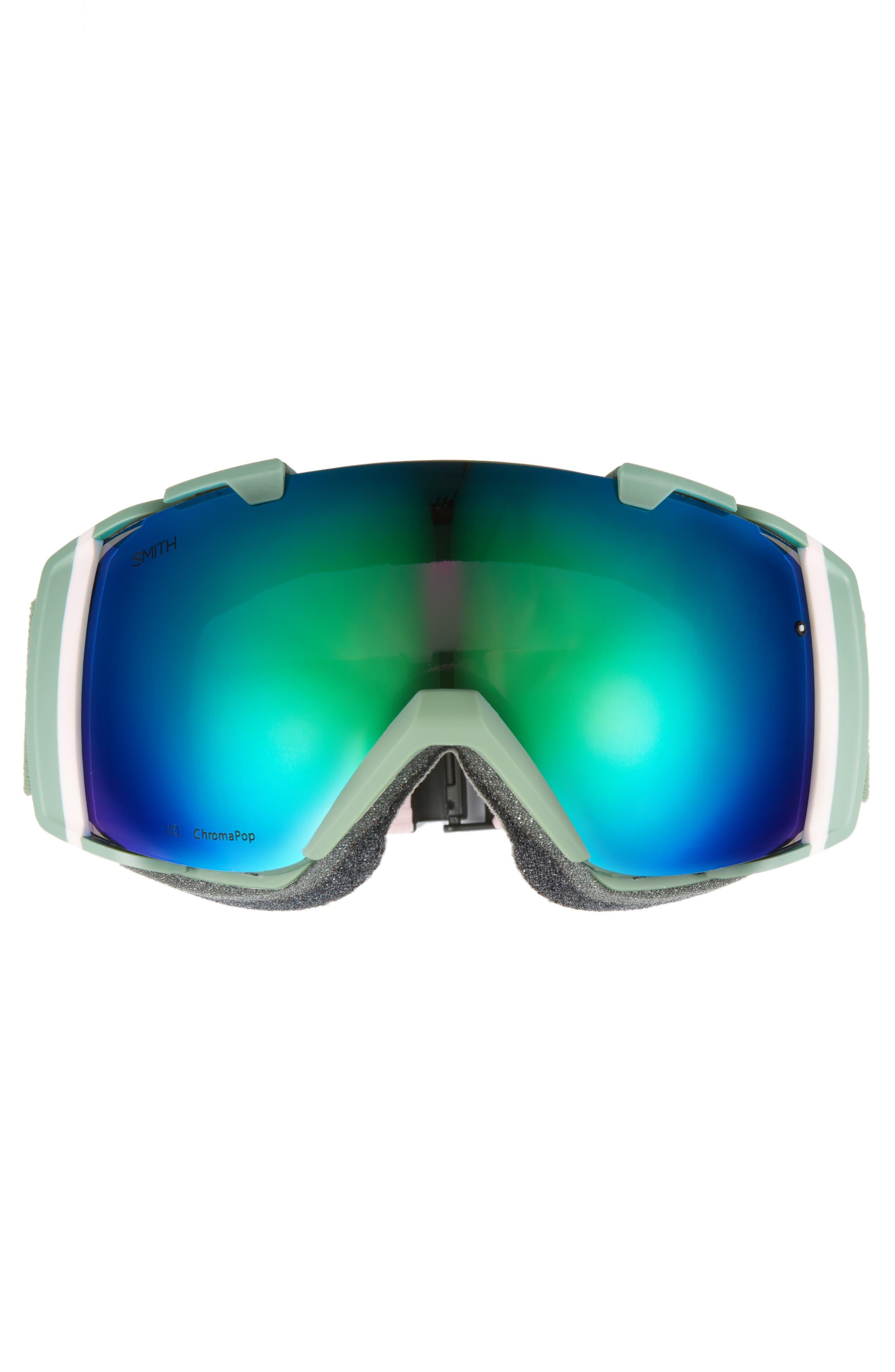 I/O 180mm Snow/Ski Goggles,                             Alternate thumbnail 3, color,                             Patina Split/ Mirror