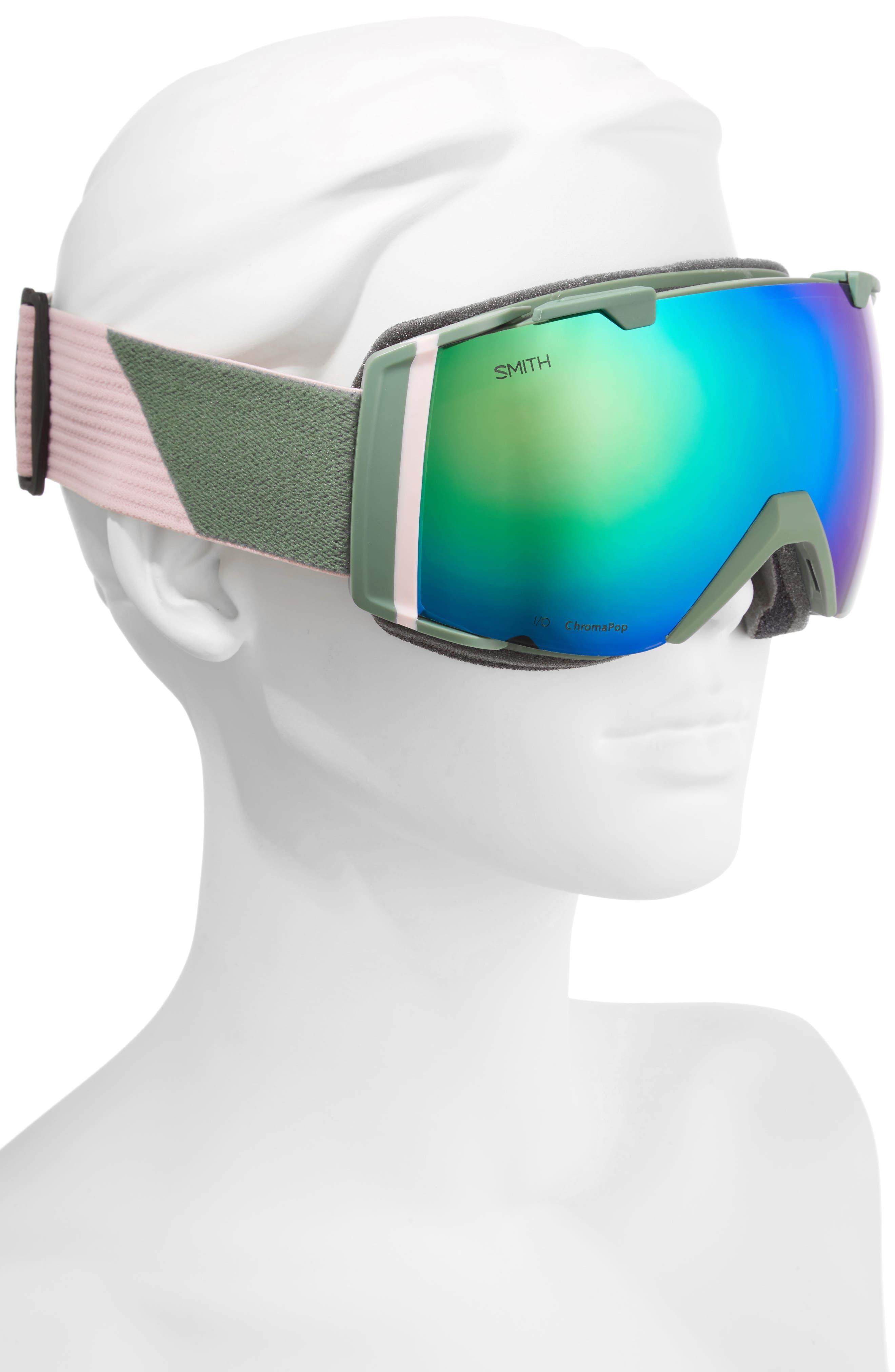 I/O 180mm Snow/Ski Goggles,                             Alternate thumbnail 4, color,                             Patina Split/ Mirror