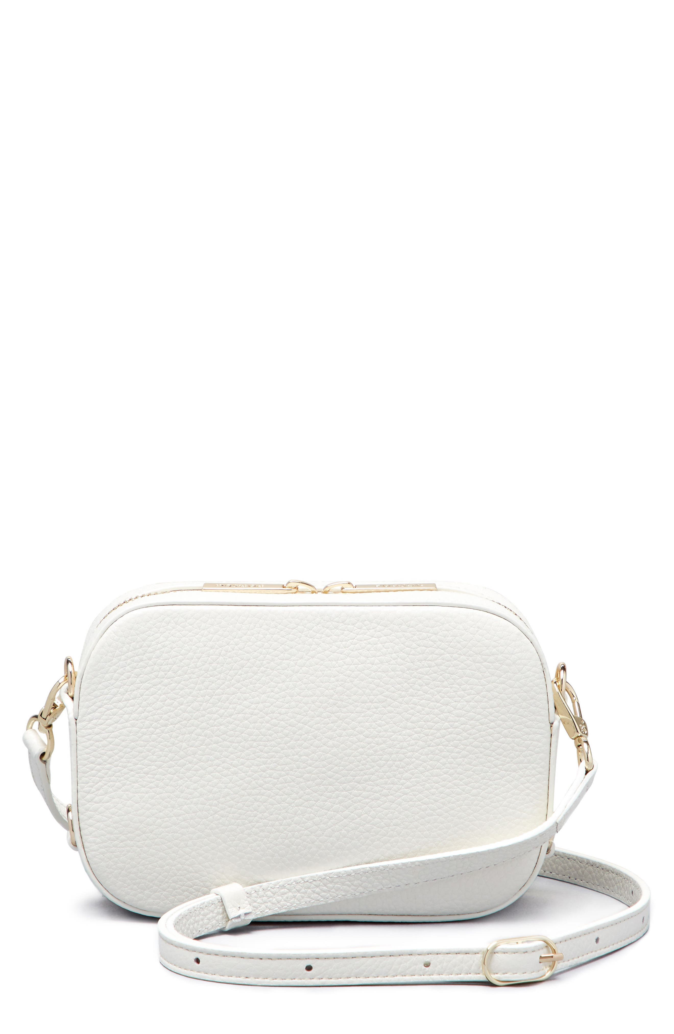 Alternate Image 3  - Pop & Suki Personalized Leather Camera Bag (Nordstrom Exclusive)
