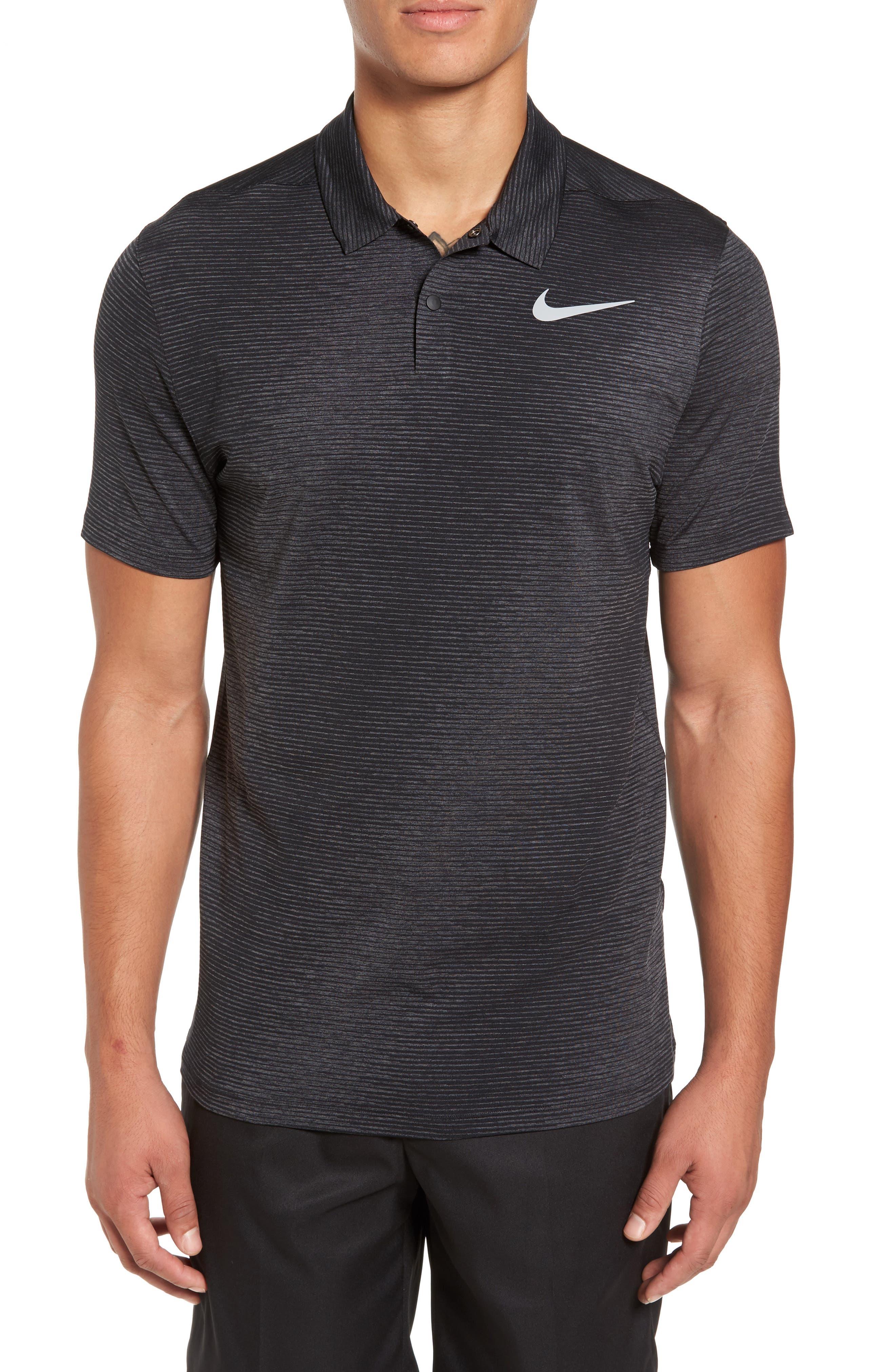 Nike Dry Stripe Golf Polo