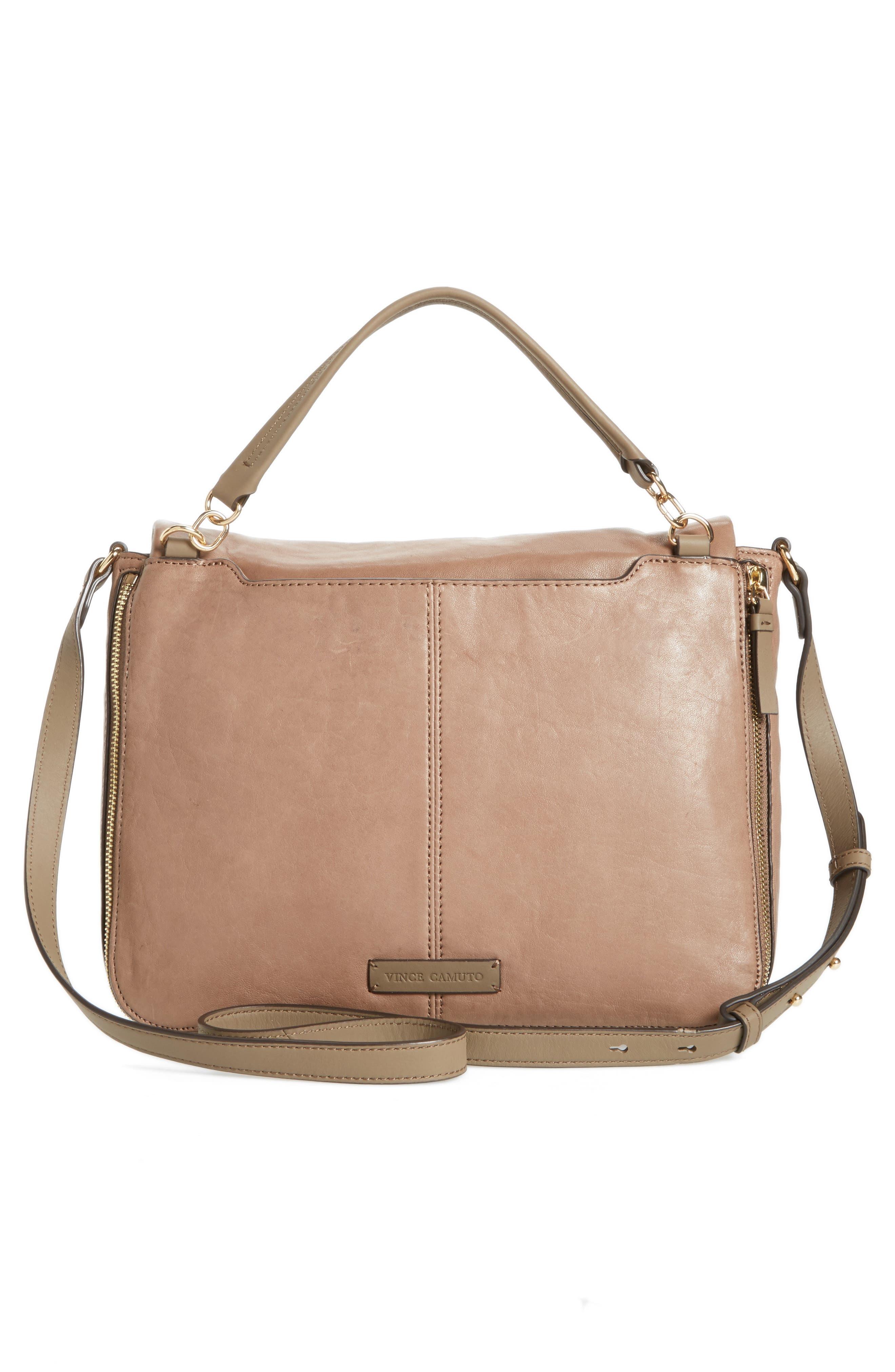 Alternate Image 2  - Vince Camuto Delos Leather Messenger Bag (Nordstrom Exclusive)