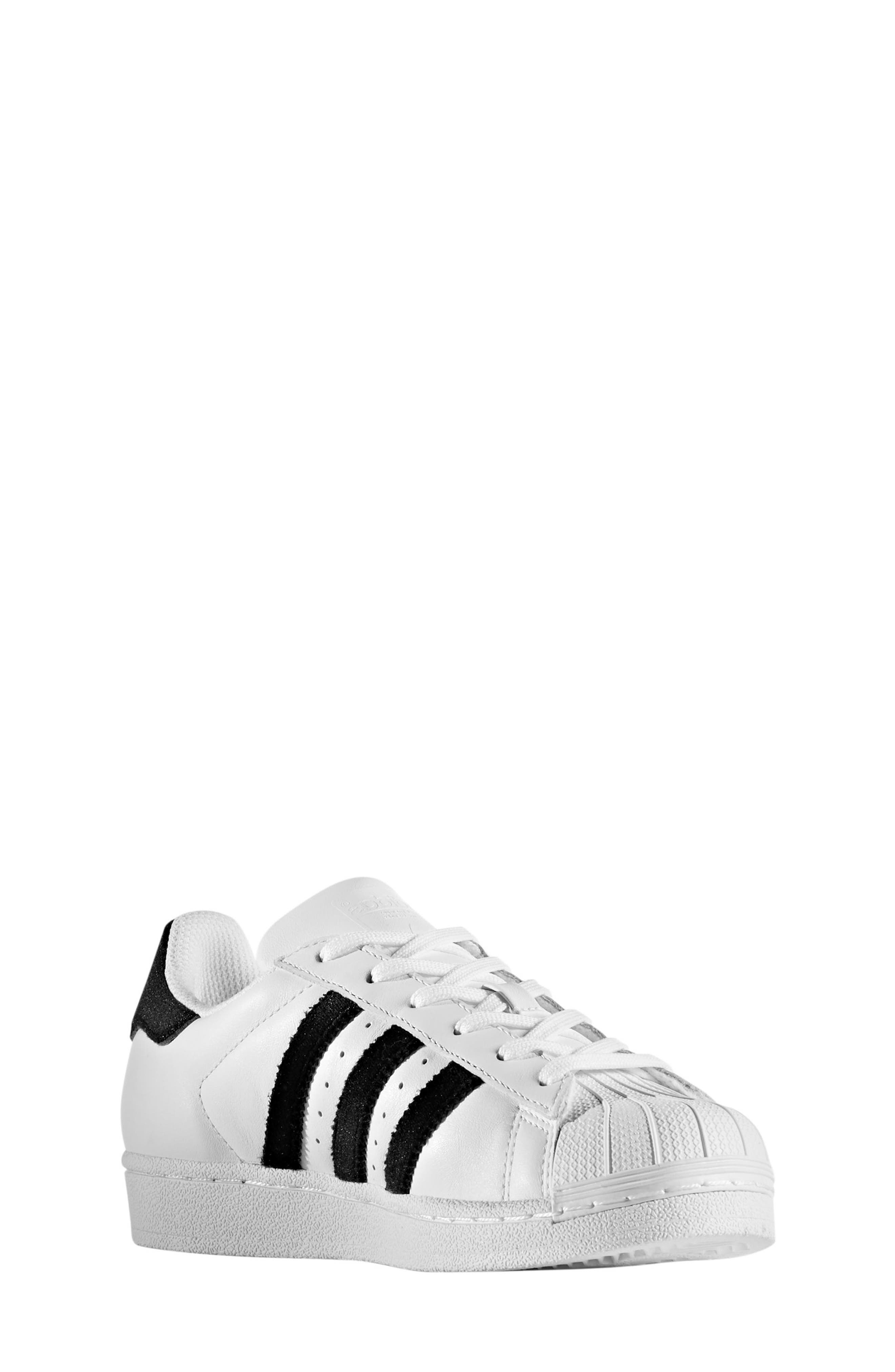 adidas Superstar J Sneaker (Toddler, Little Kid \u0026 Big ...