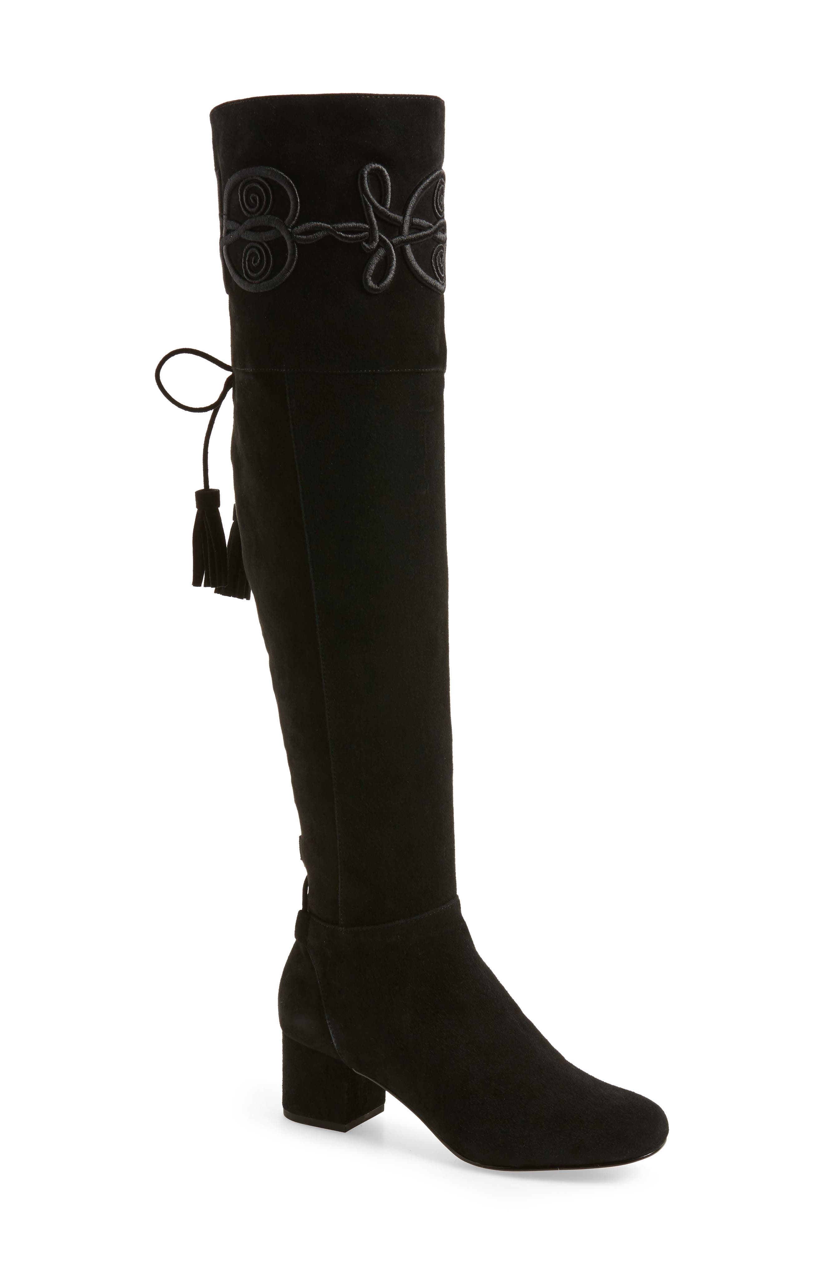 Alternate Image 1 Selected - Rebecca Minkoff Shiloh Over the Knee Boot (Women) (Narrow Calf)