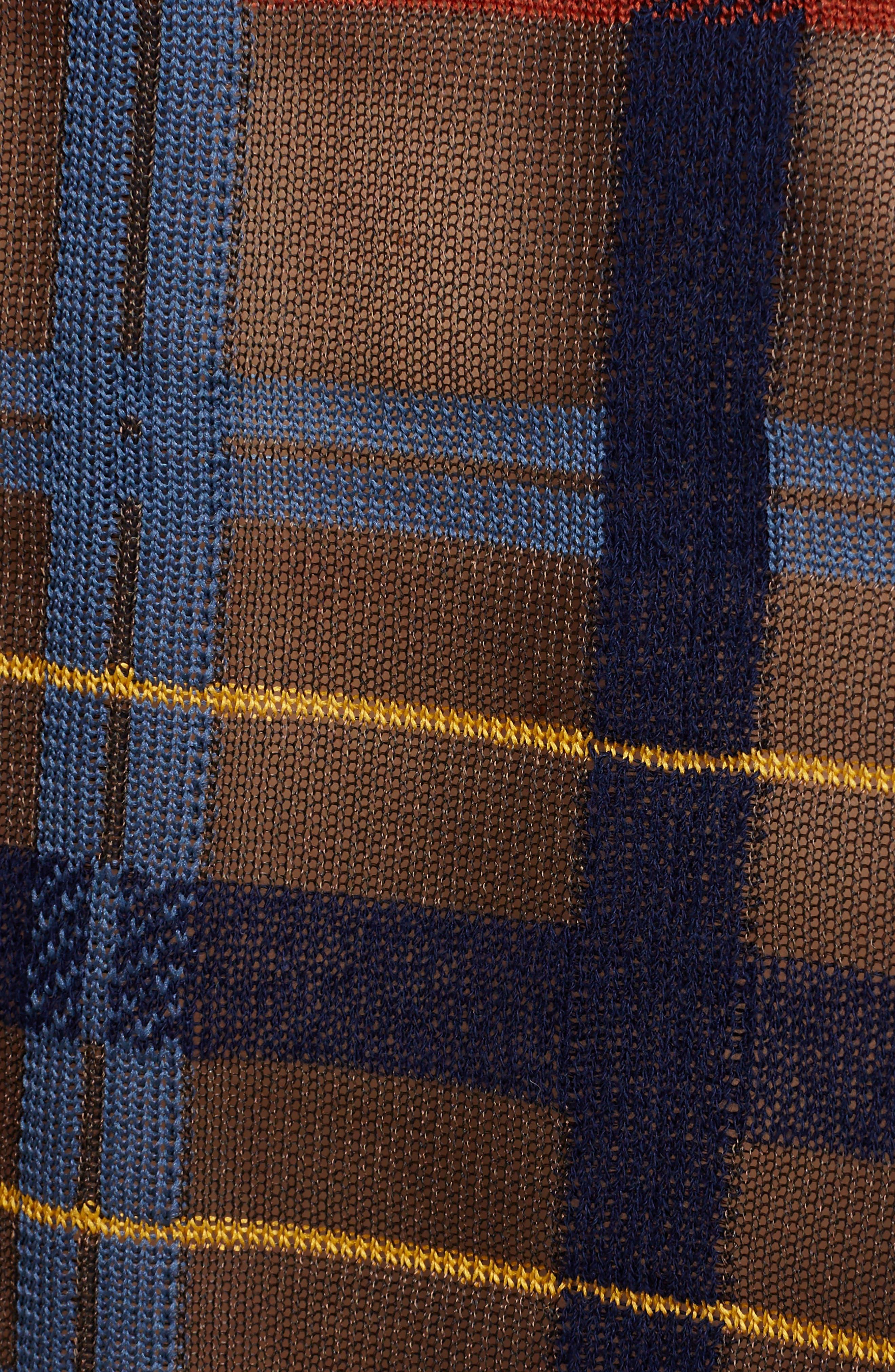 Alternate Image 5  - Toga Check Knit Sweater