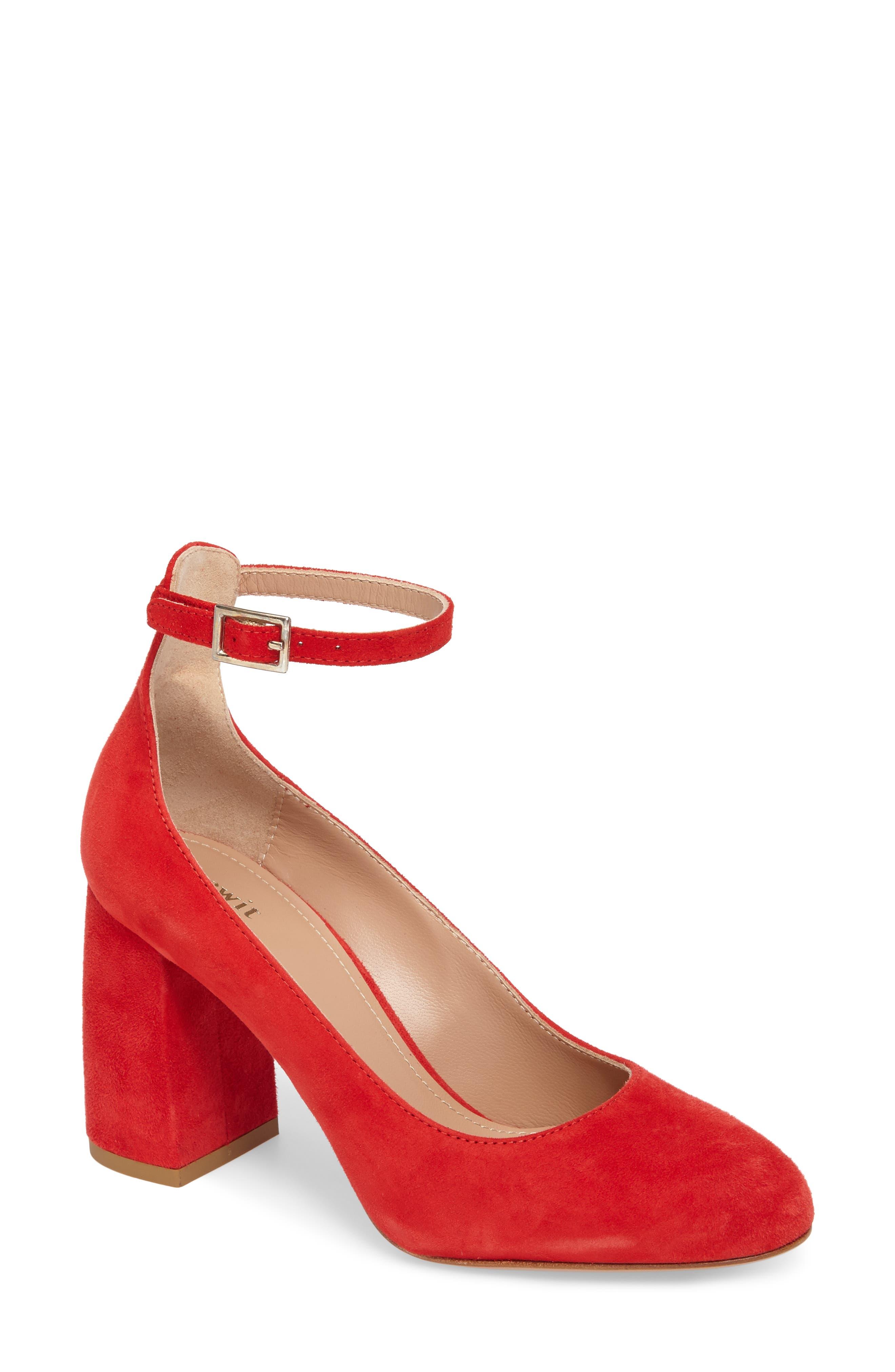Lewit Emilia Ankle Strap Pump (Women)