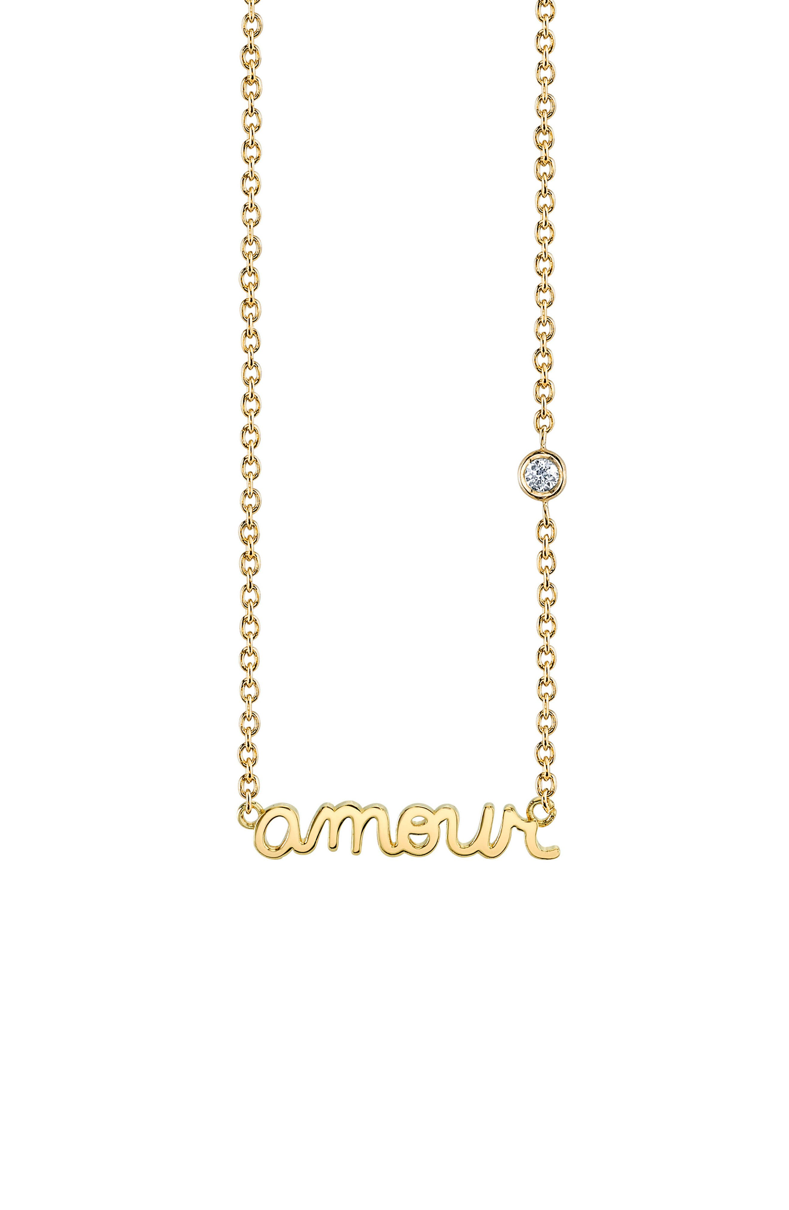 Main Image - Shy by SE Amour Pendant Necklace